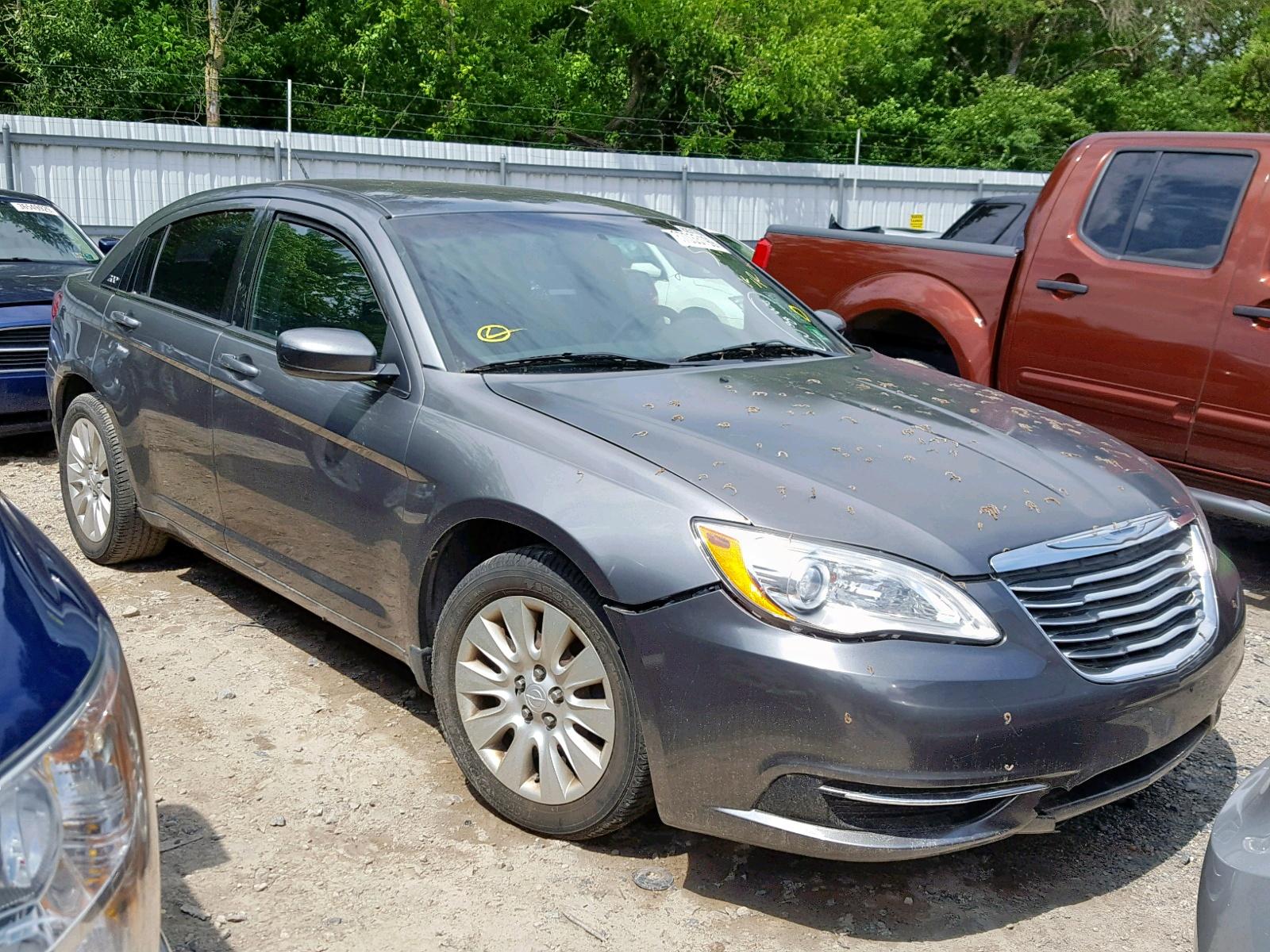 2012 Chrysler 200 Tire Size >> 2012 Chrysler 200 Lx 2 4l 4 In Nj Glassboro East