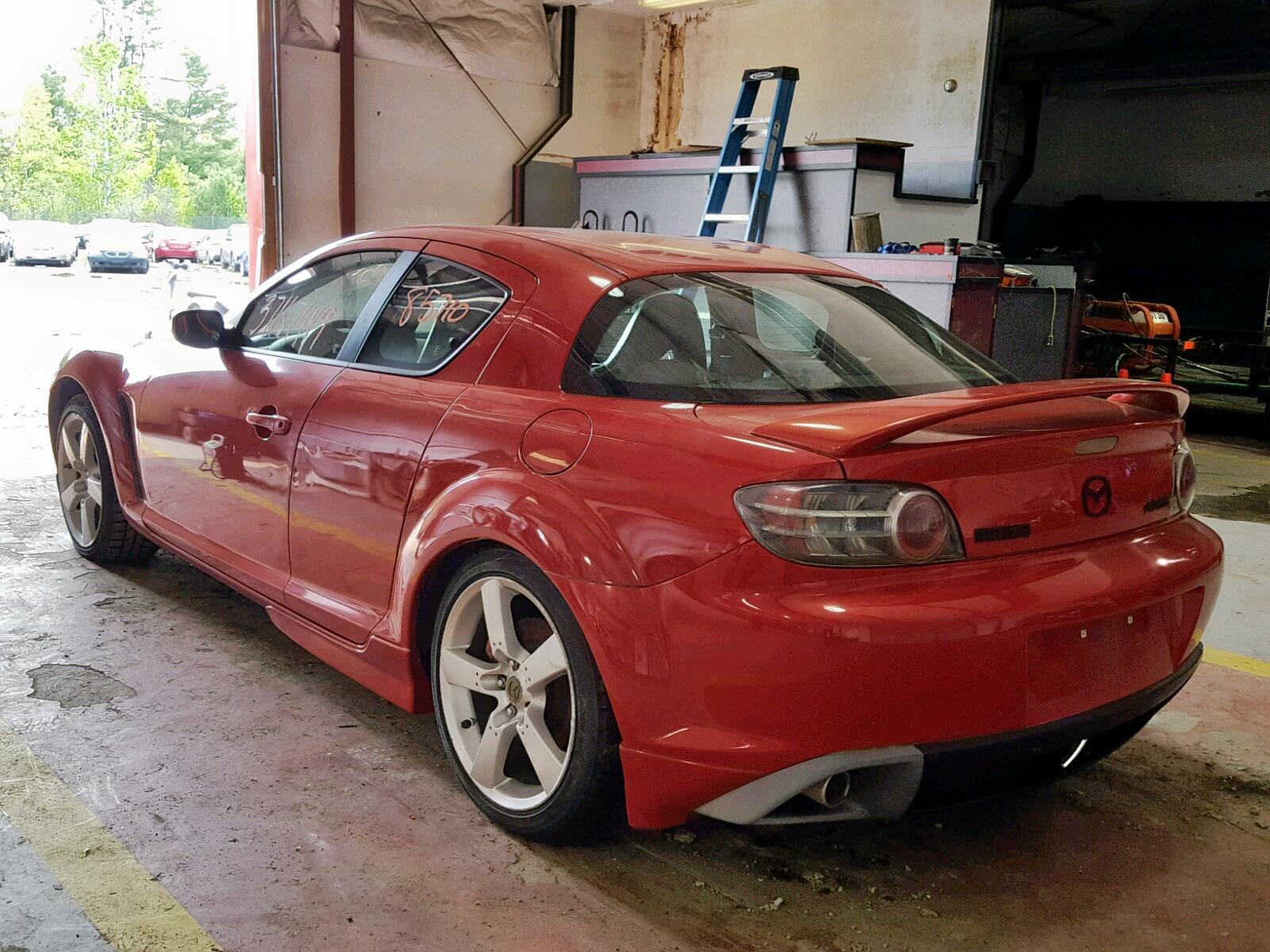 JM1FE173550158875 - 2005 Mazda Rx8 1.3L [Angle] View