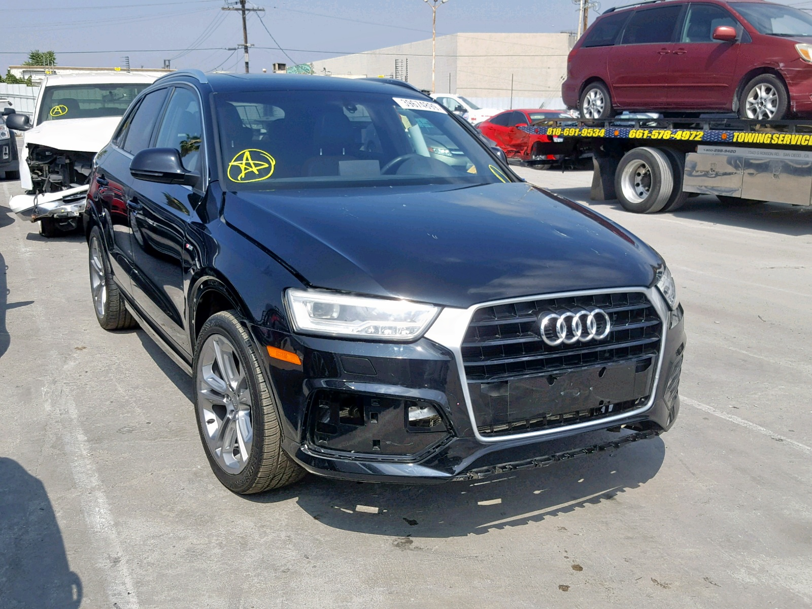 click here to view 2016 AUDI Q3 PRESTIG at IBIDSAFELY