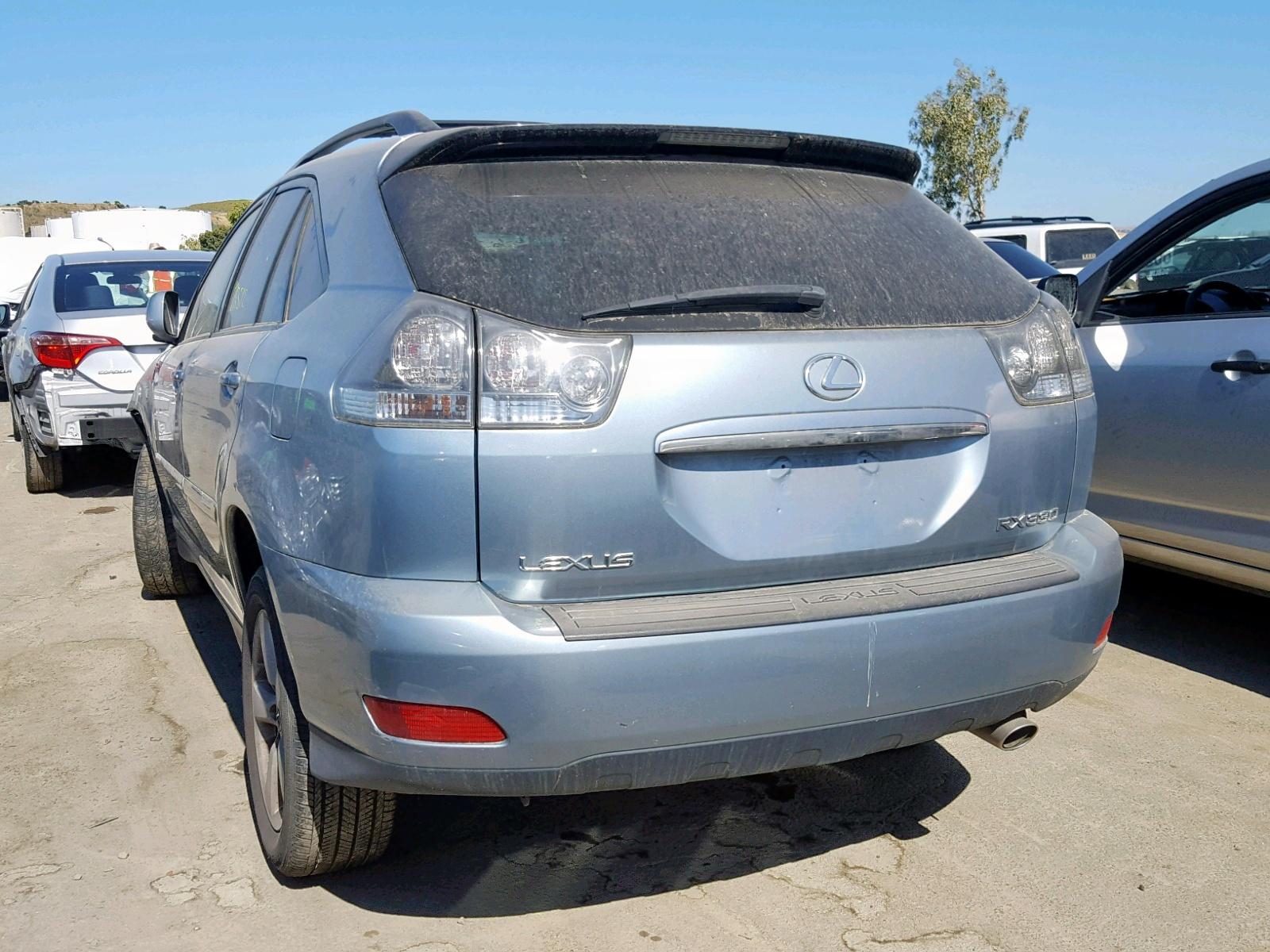 Auto Auction Ended on VIN: JTJGA31U750048033 2005 Lexus Rx