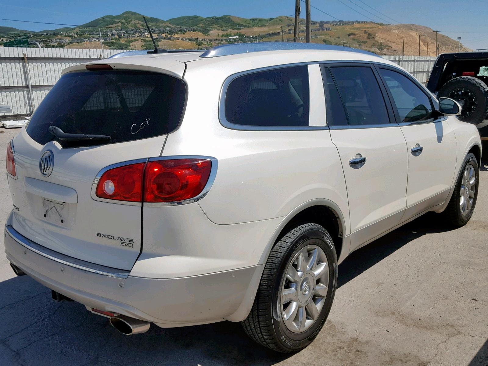 5GAKVCED1CJ321648 - 2012 Buick Enclave 3.6L rear view