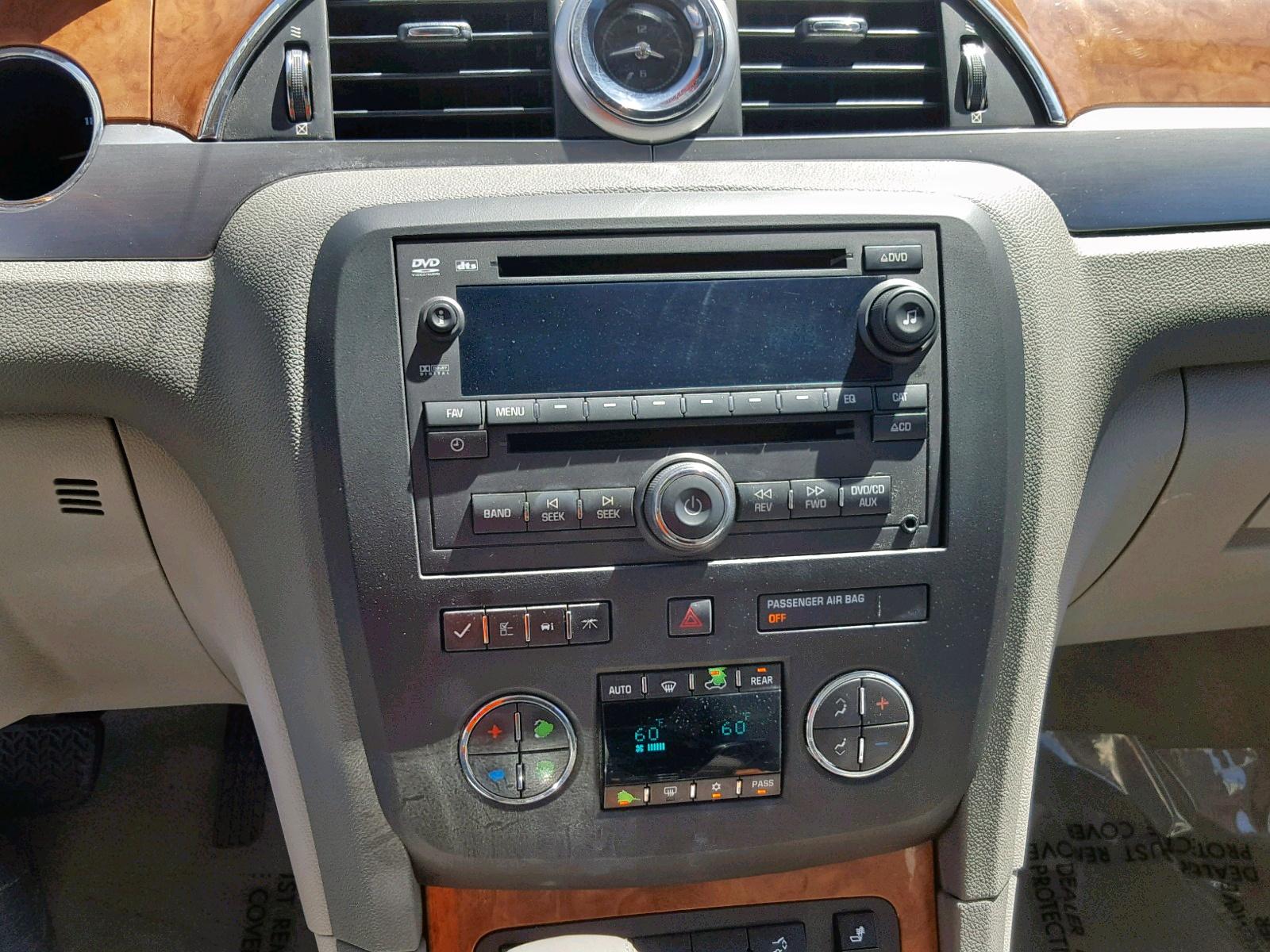 5GAKVCED1CJ321648 - 2012 Buick Enclave 3.6L engine view