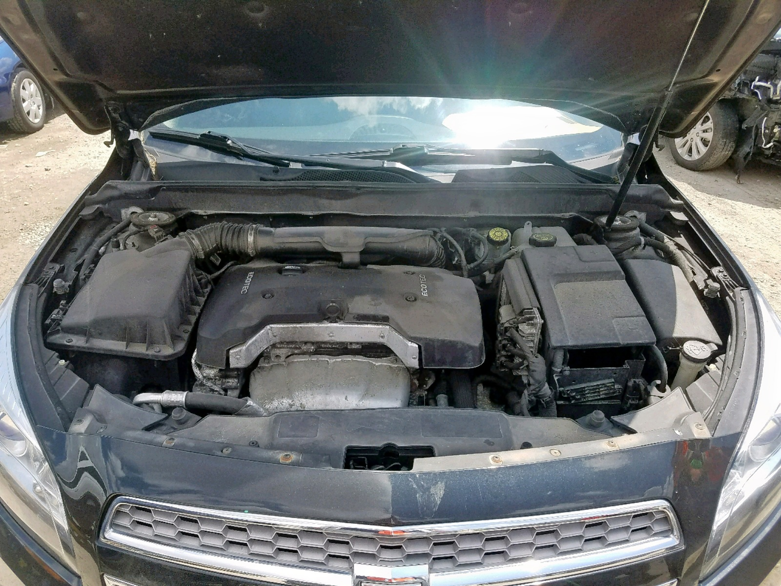2013 Chevrolet Malibu Ltz 2.5L inside view