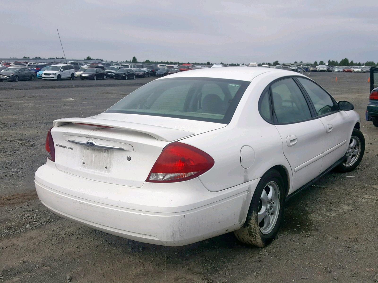 1FAFP53U06A132220 - 2006 Ford Taurus Se 3.0L rear view
