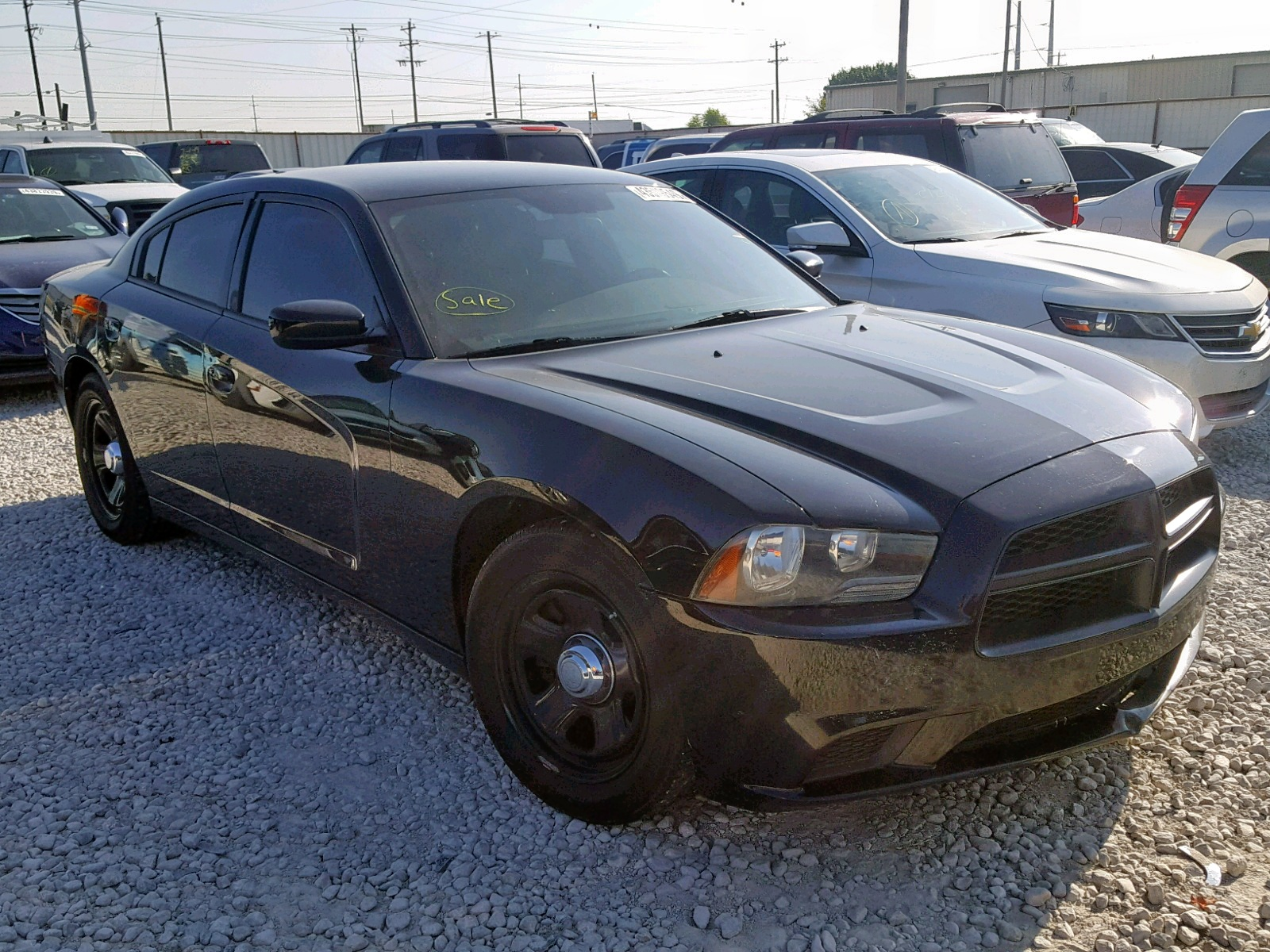 2C3CDXAT5CH266816 - 2012 Dodge Charger Po 5.7L Left View