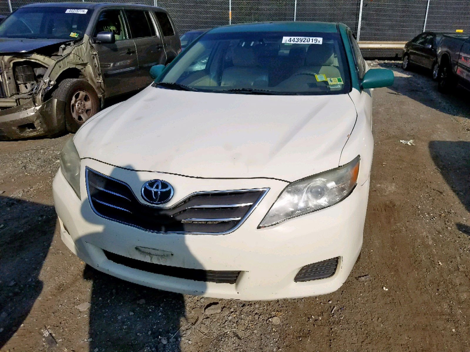 2011 Toyota Camry 2.5L engine view