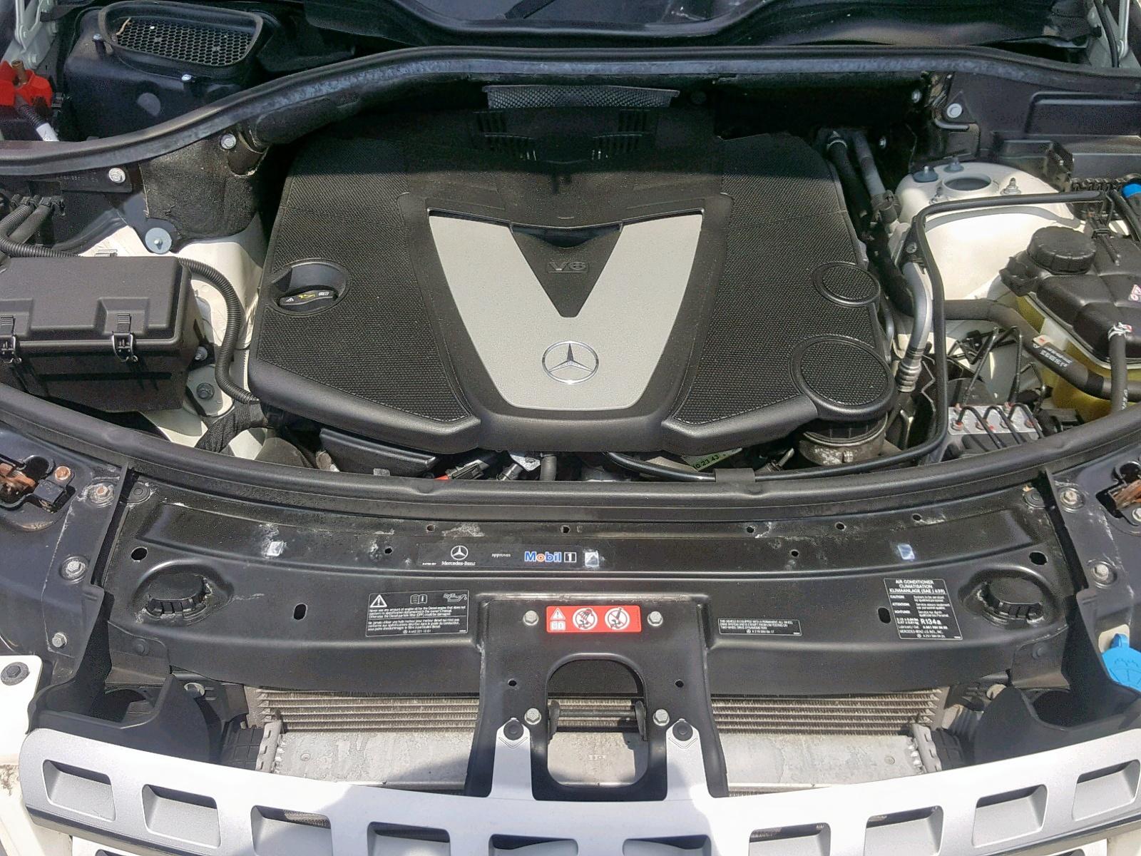4JGBB2FB0BA648633 - 2011 Mercedes-Benz Ml 350 Blu 3.0L inside view