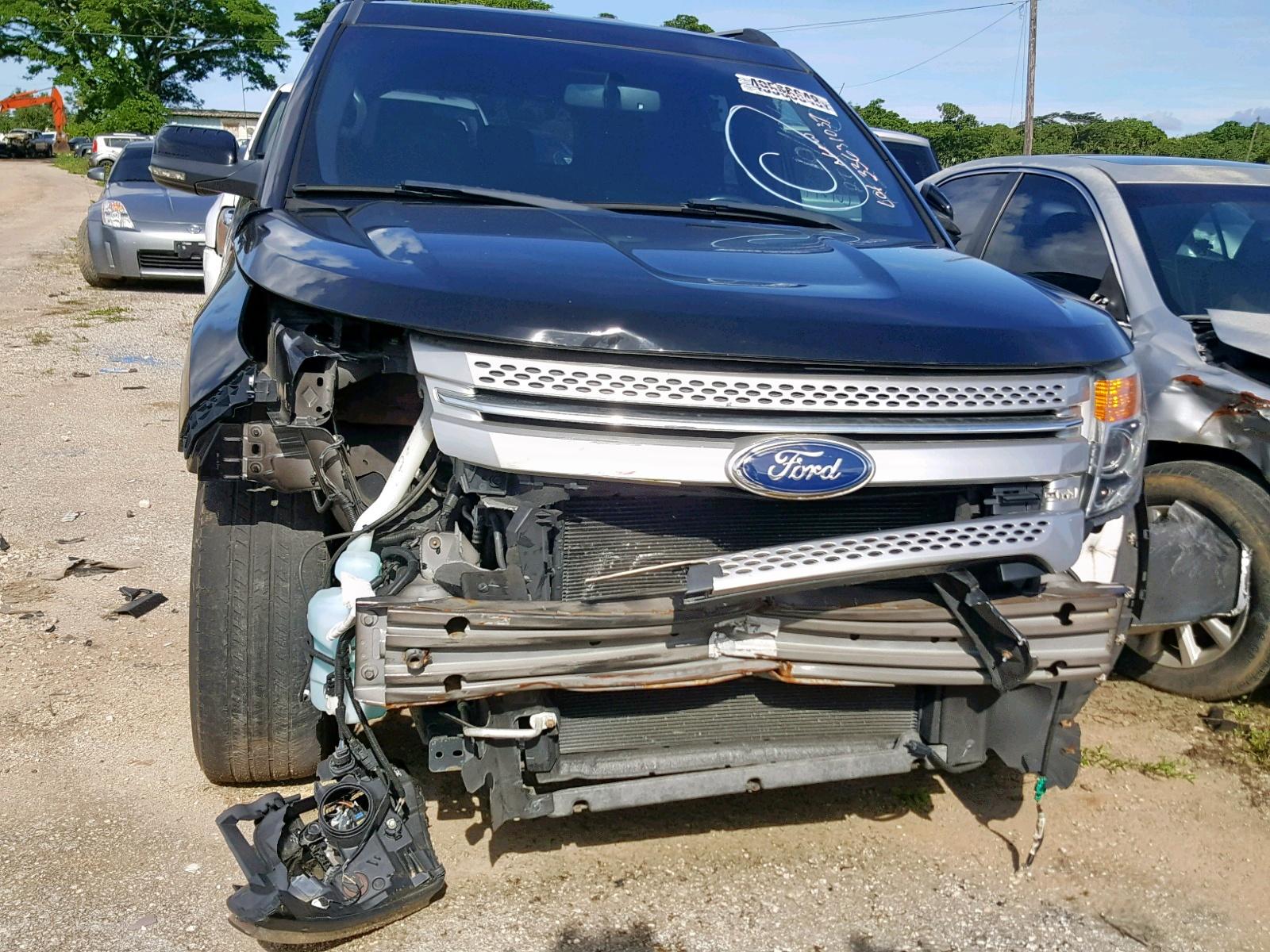 1FMHK7D85CGA54259 - 2012 Ford Explorer X 3.5L