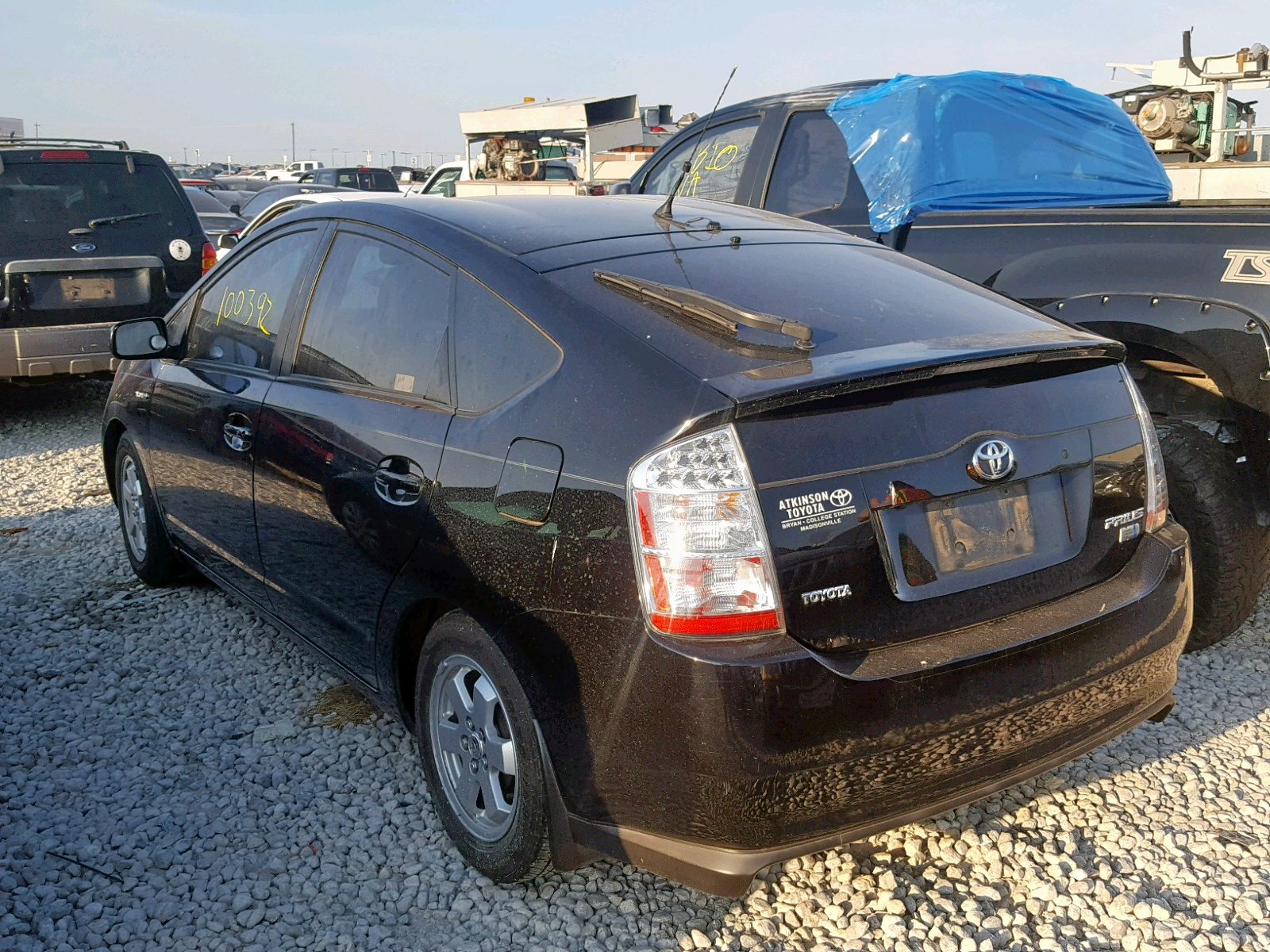 Atkinson Toyota Bryan >> Toyota Prius 2007 Jtdkb20u377678325 Auto Auction Spot