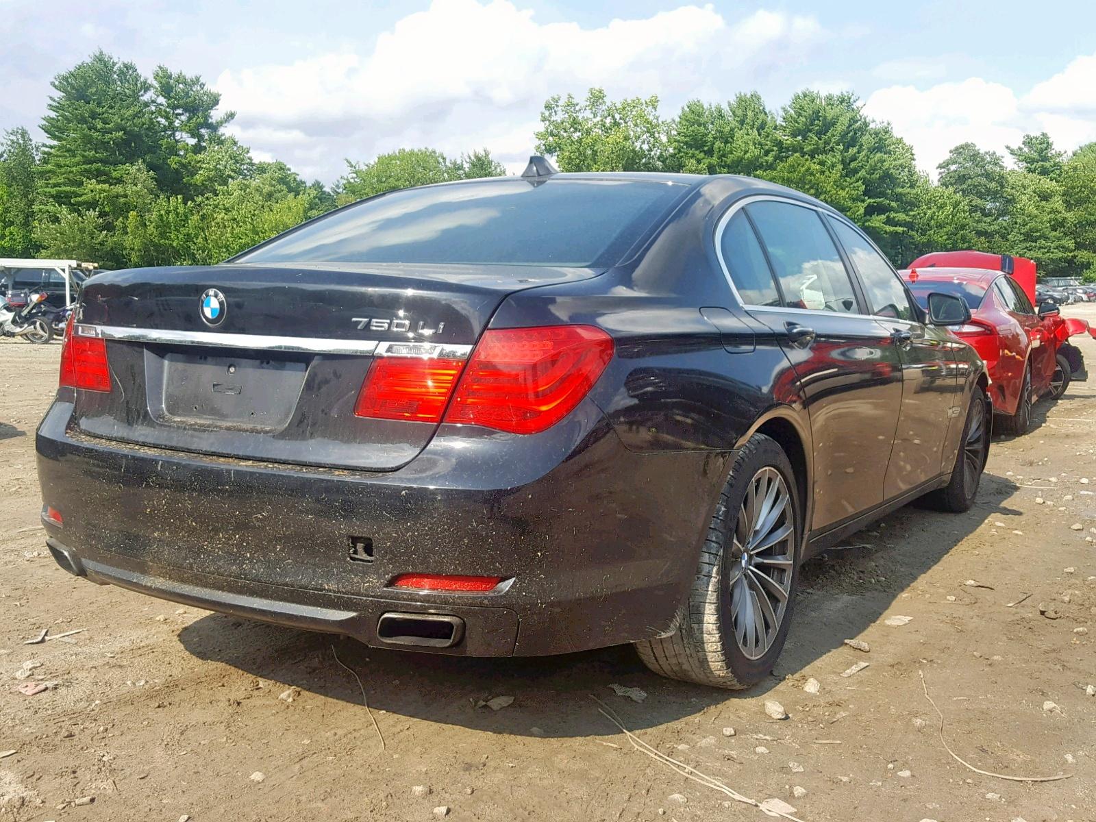WBAKB8C58BCY66407 - 2011 Bmw 750 4.4L rear view