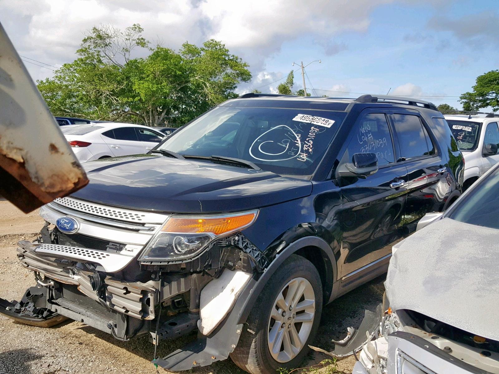 1FMHK7D85CGA54259 - 2012 Ford Explorer X 3.5L Right View