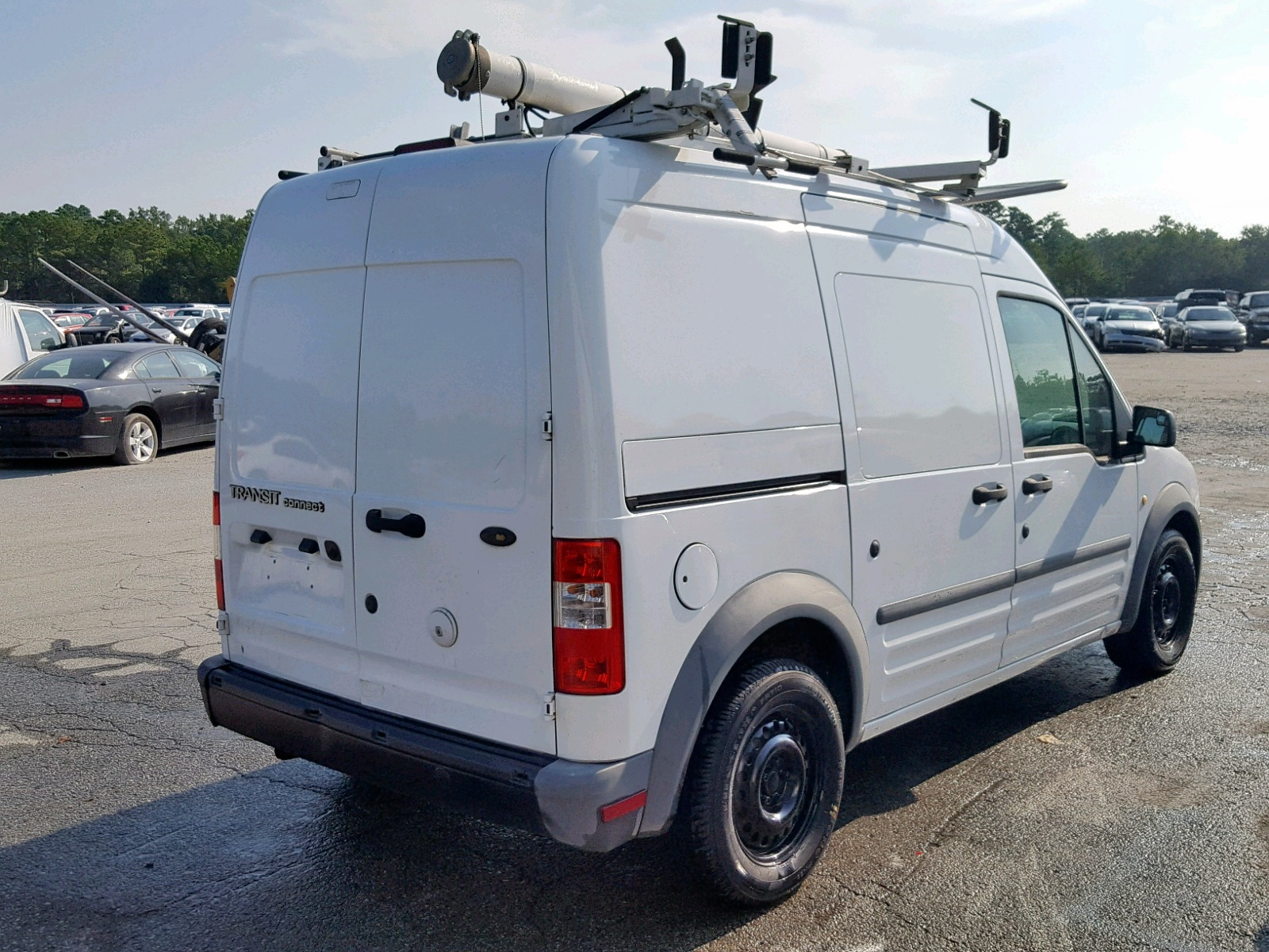NM0LS7AN0BT071241 - 2011 Ford Transit Co 2.0L rear view