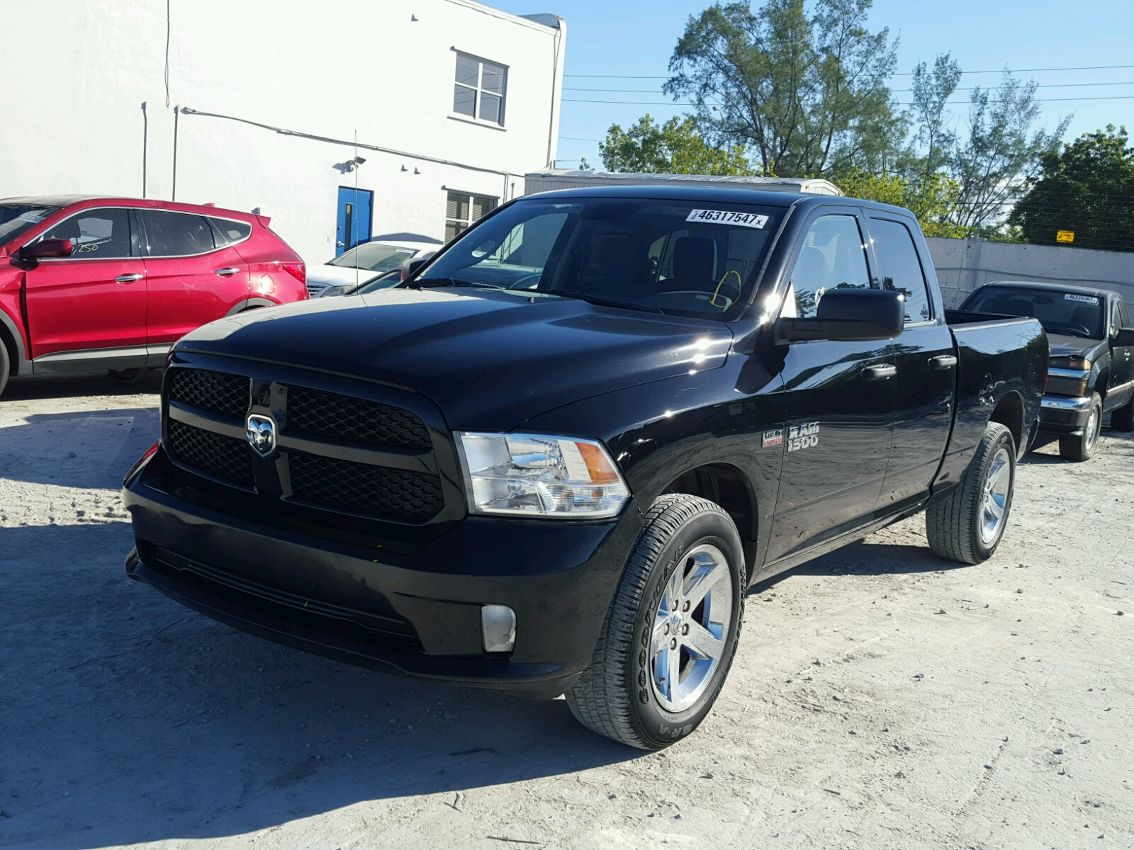 2013 dodge ram 1500 for sale at copart miami fl lot 46317547. Black Bedroom Furniture Sets. Home Design Ideas