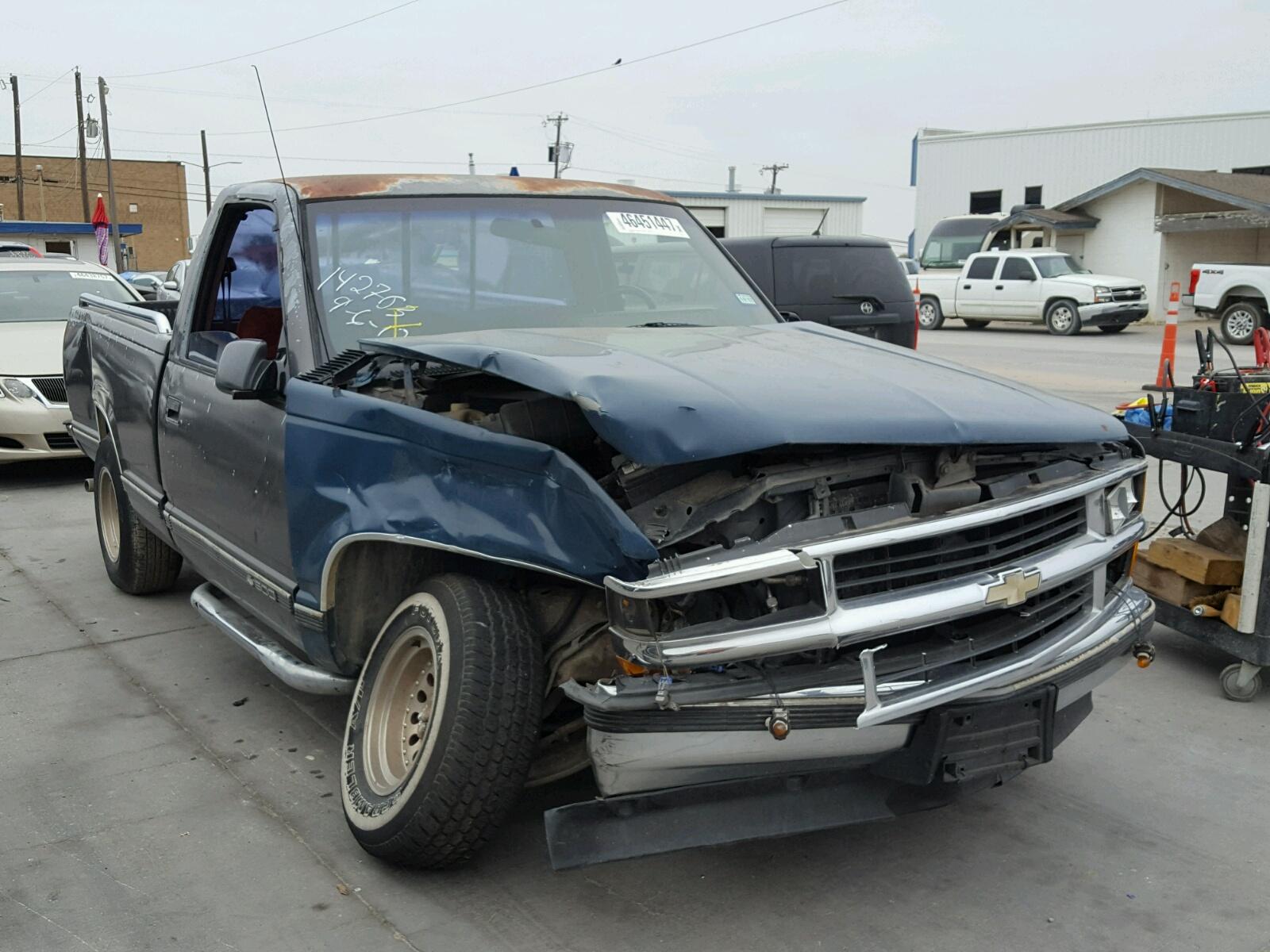 Auto Auction Ended On Vin 2gcec19k8m1242570 1991