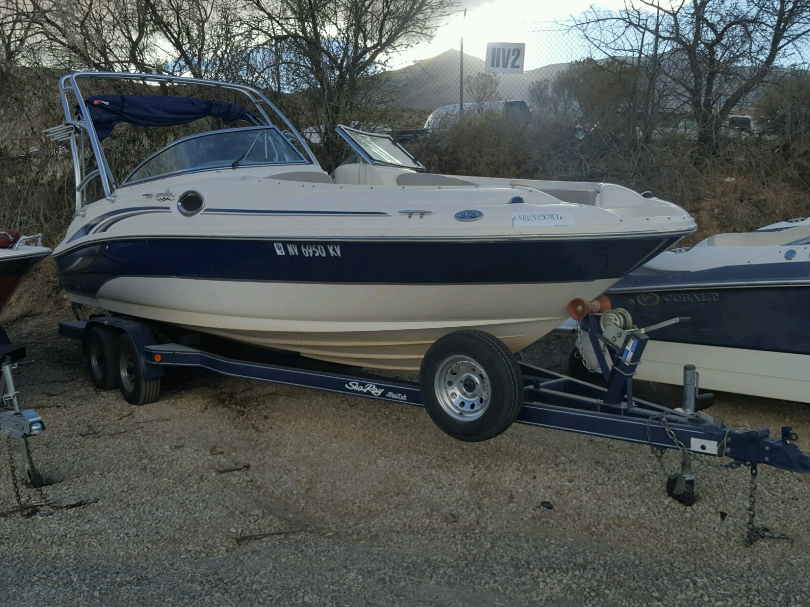 Salvage 2004 Sea Ray BOAT for sale