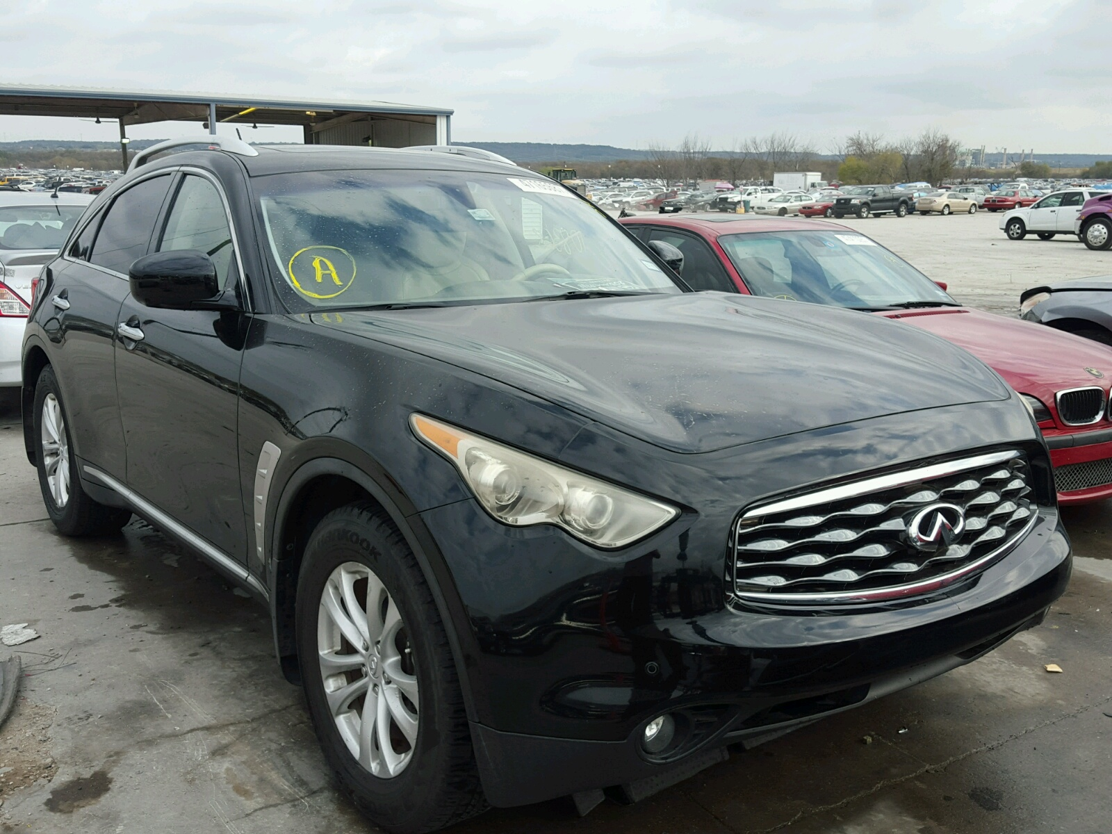 in en md view baltimore on cert salvage lot sale rear infiniti of online gray auctions damage copart auto carfinder