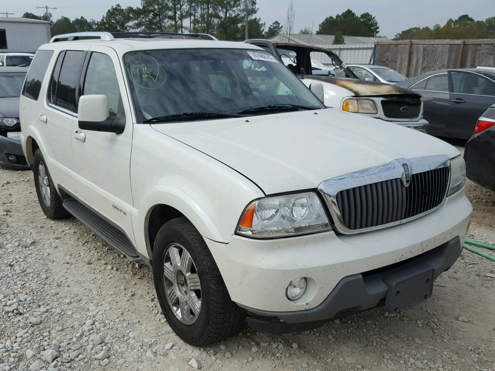 Auto Auction Ended on VIN: 5LMEU78H53ZJ48134 2003 LINCOLN AVIATOR in ...