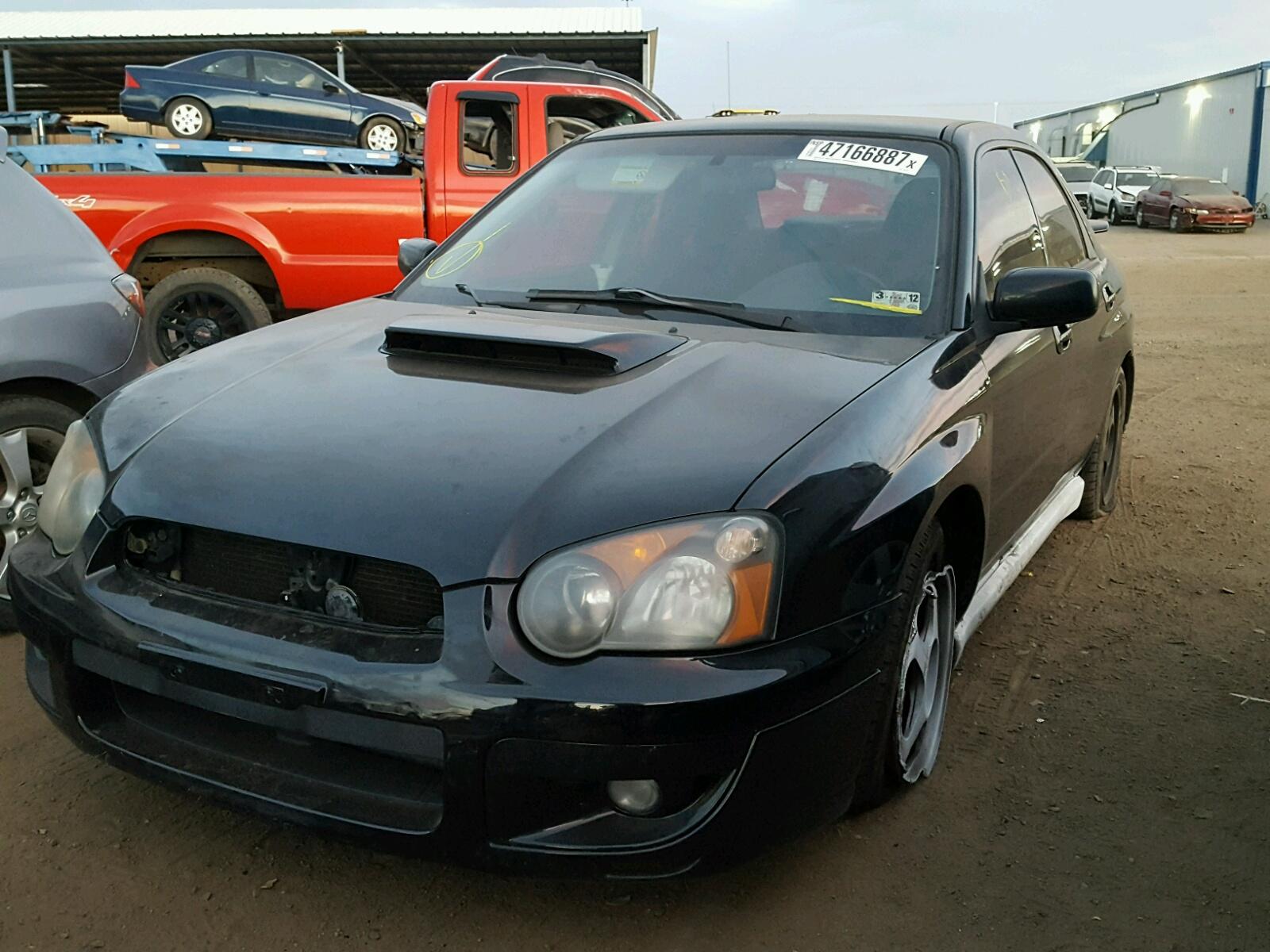 Jf1gd29635g503144 2005 Black Subaru Impreza Wr On Sale