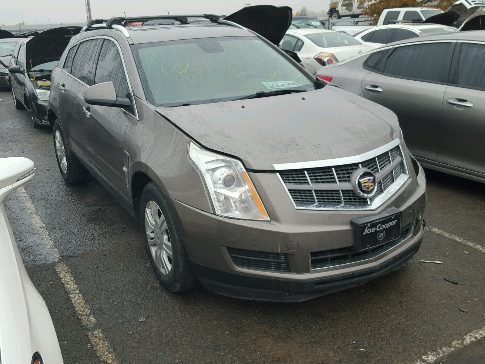 view cadillac exterior price front wheel suv reviews srx drive side base photos