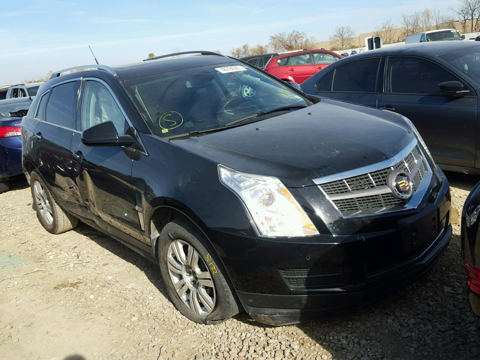 qatar title maintained black living well good information condition vehicles srx cadillac