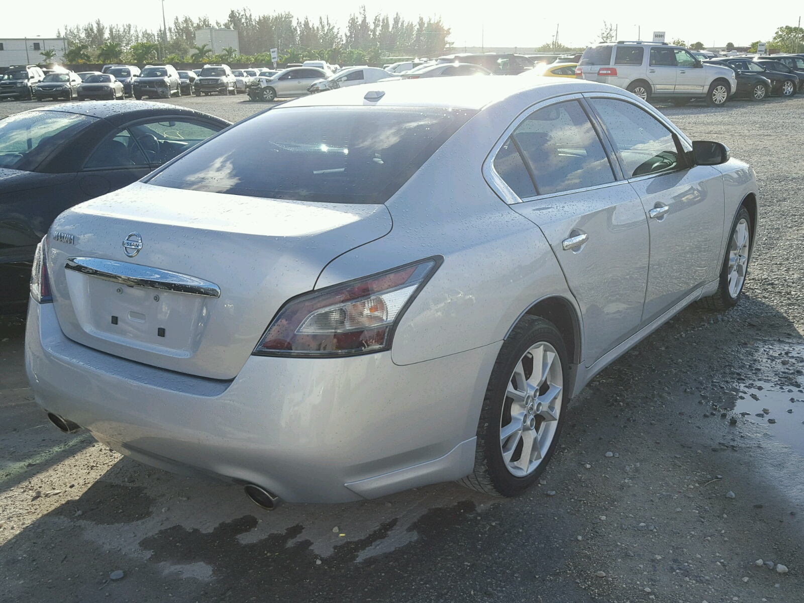 used 2014 nissan maxima s cd for sale in miami. Black Bedroom Furniture Sets. Home Design Ideas