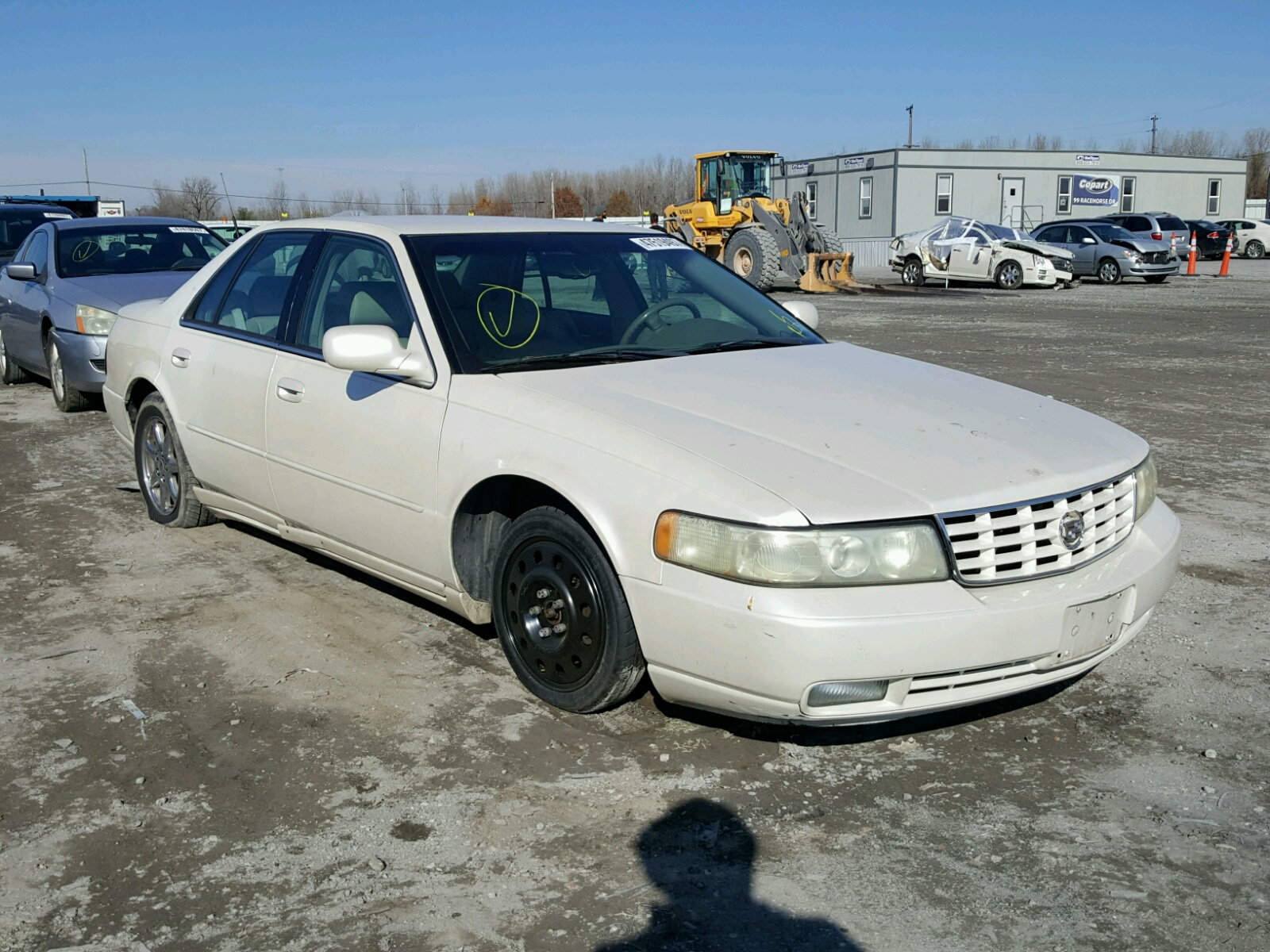 Salvage 2003 Cadillac SEVILLE SL for sale