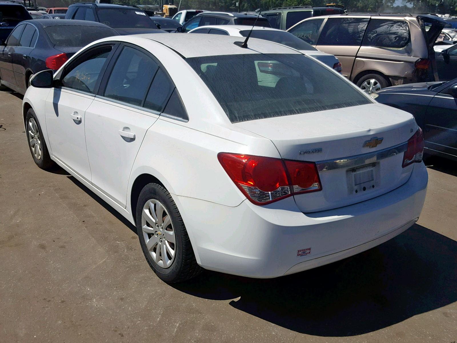 1G1PF5S9XB7293821 - 2011 Chevrolet Cruze Lt 1.4L [Angle] View