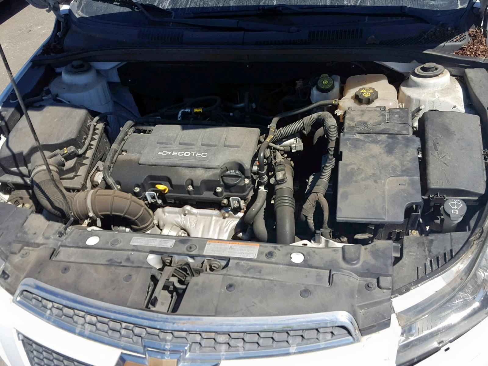 1G1PF5S9XB7293821 - 2011 Chevrolet Cruze Lt 1.4L inside view