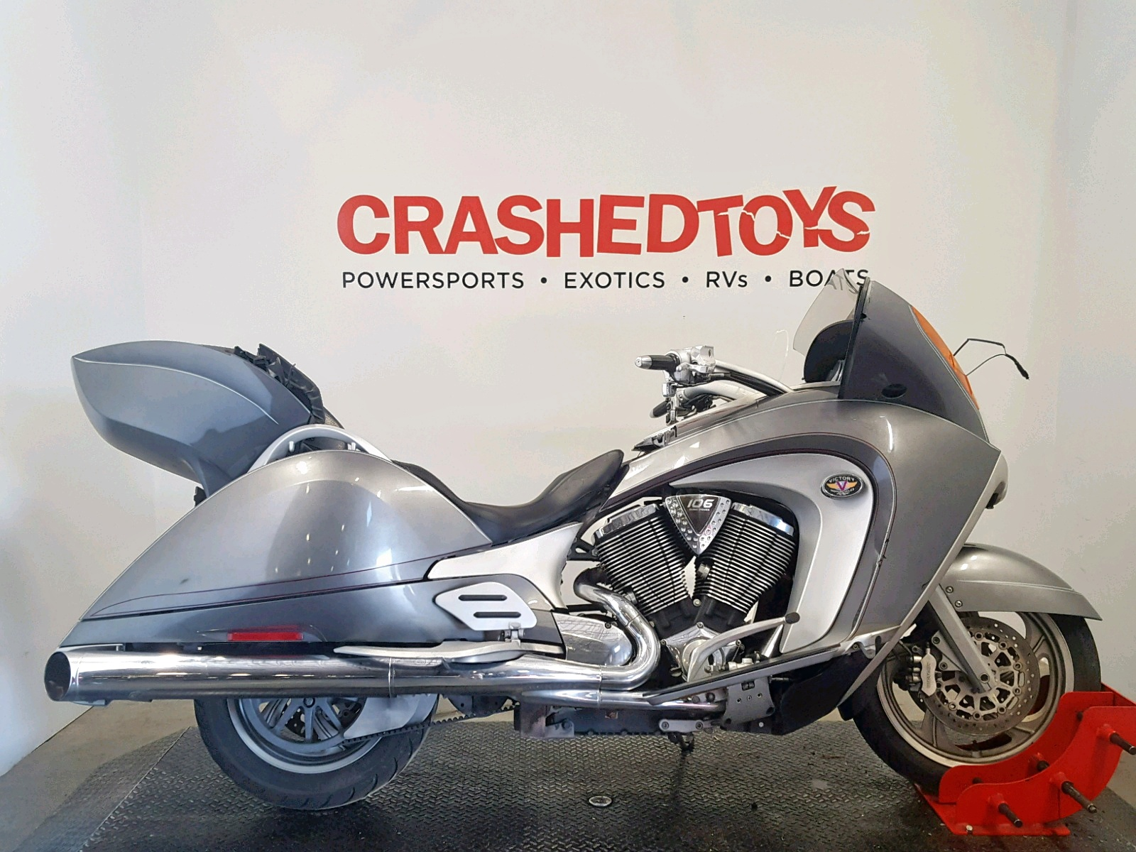 click here to view 2008 VICTORY MOTORCYCLES VISION DEL at IBIDSAFELY