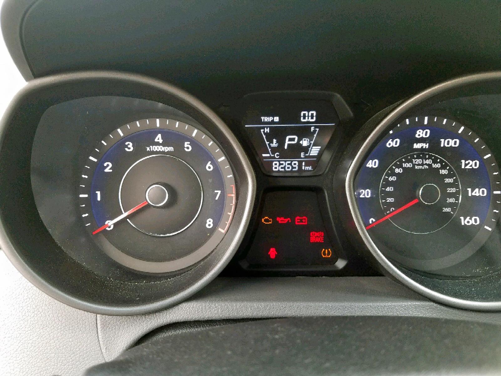 5NPDH4AEXGH714940 - 2016 Hyundai Elantra Se 1.8L front view