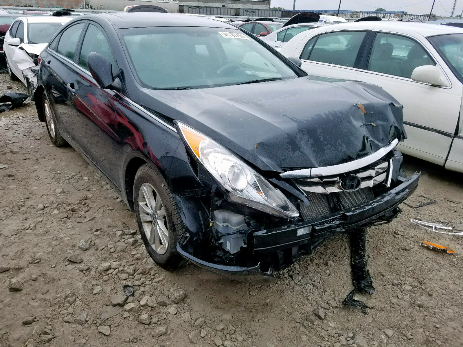 2013 Hyundai Sonata Gls 2.4L Left View