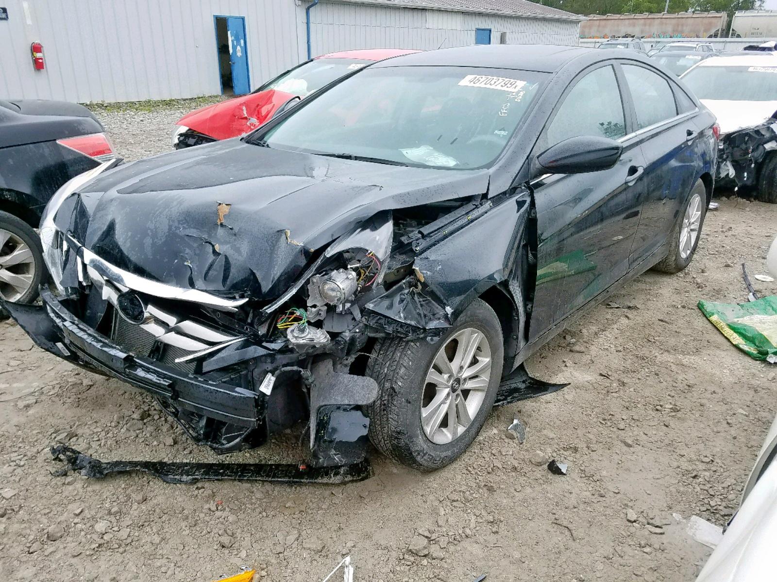 2013 Hyundai Sonata Gls 2.4L Right View