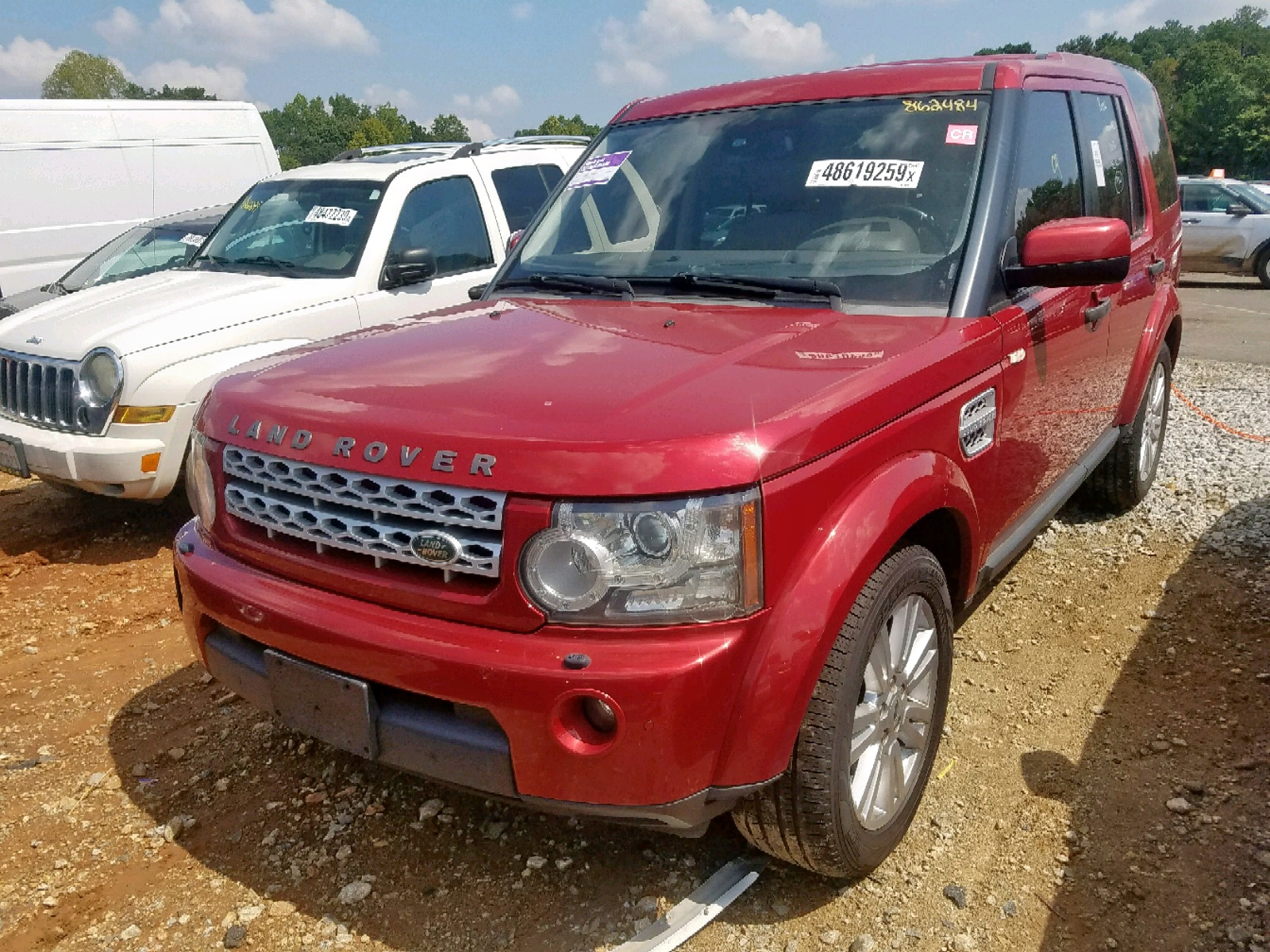 SALAG2D46CA642089 - 2012 Land Rover Lr4 Hse 5.0L Right View