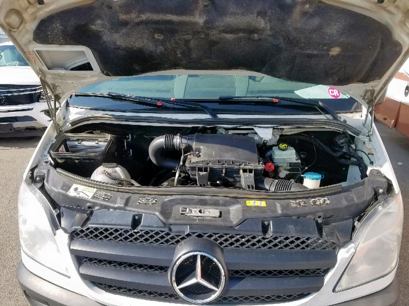 2012 Mercedes-Benz Sprinter 2 3.0L inside view