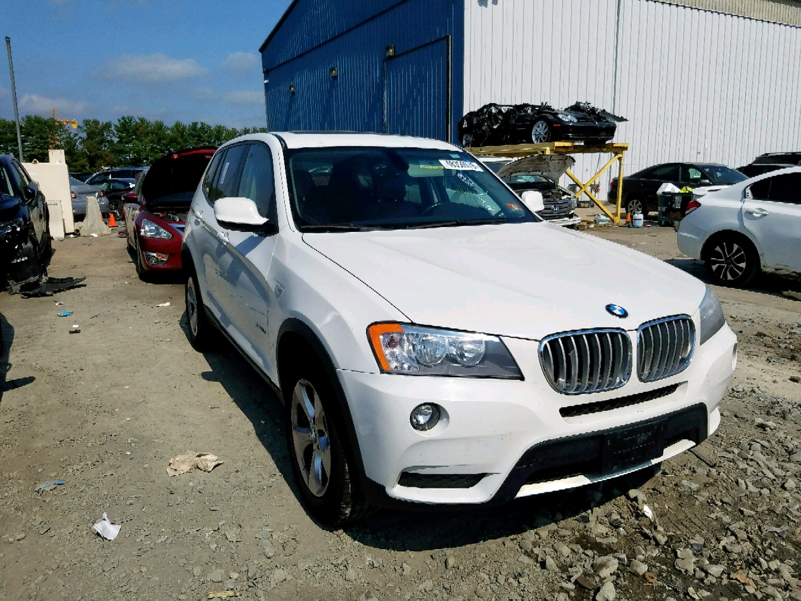 click here to view 2011 BMW X3 XDRIVE2 at IBIDSAFELY