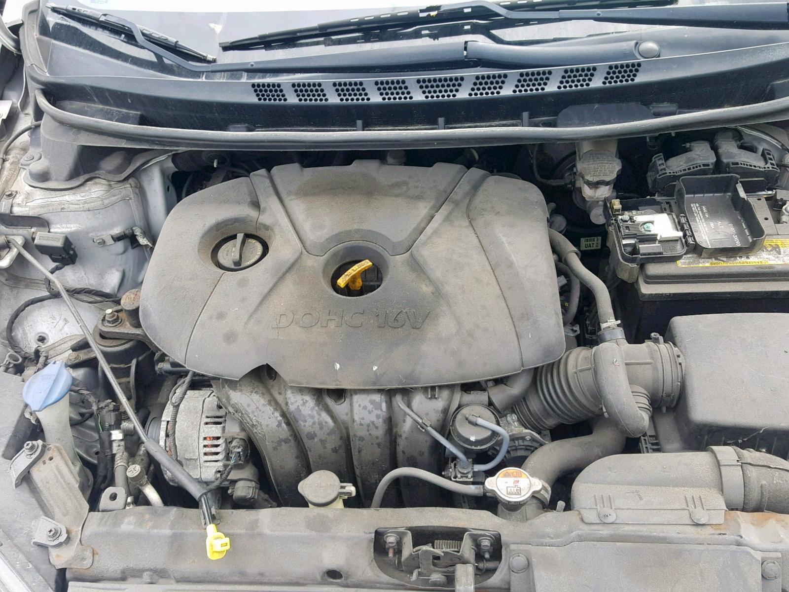 5NPDH4AE0GH703333 - 2016 Hyundai Elantra Se 1.8L inside view