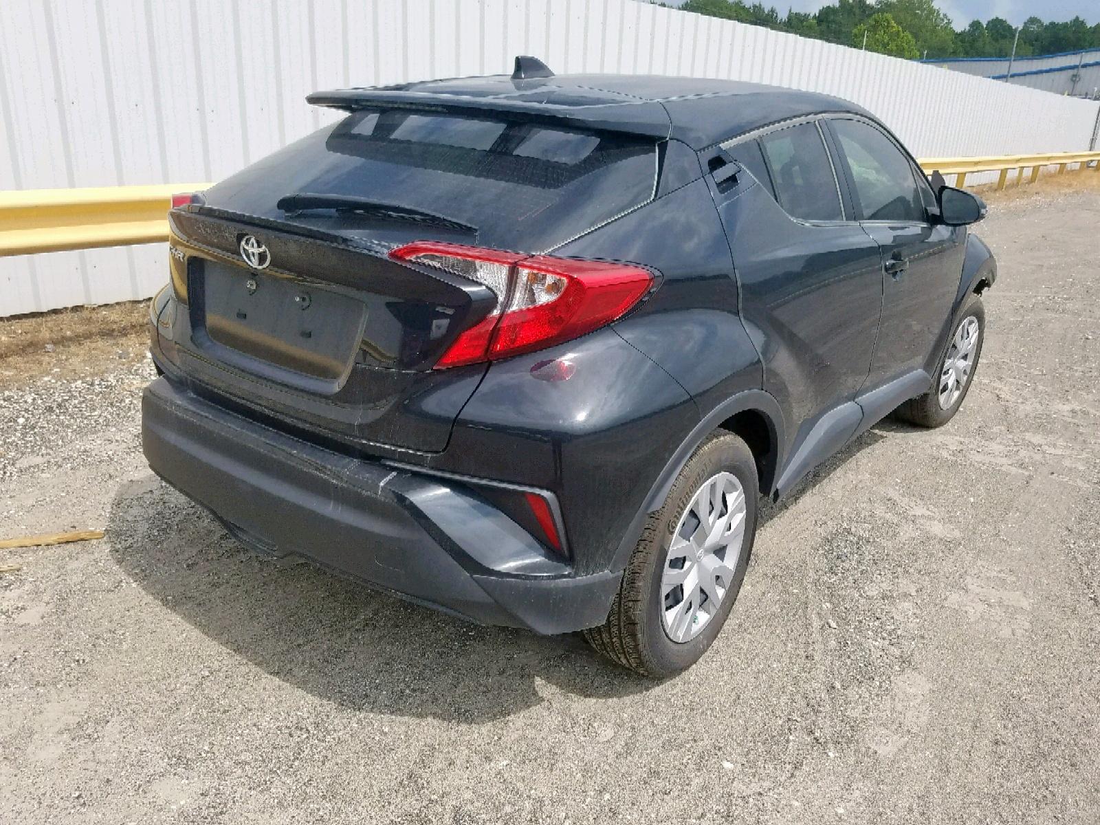 JTNKHMBX3K1023784 - 2019 Toyota C-Hr Xle 2.0L rear view
