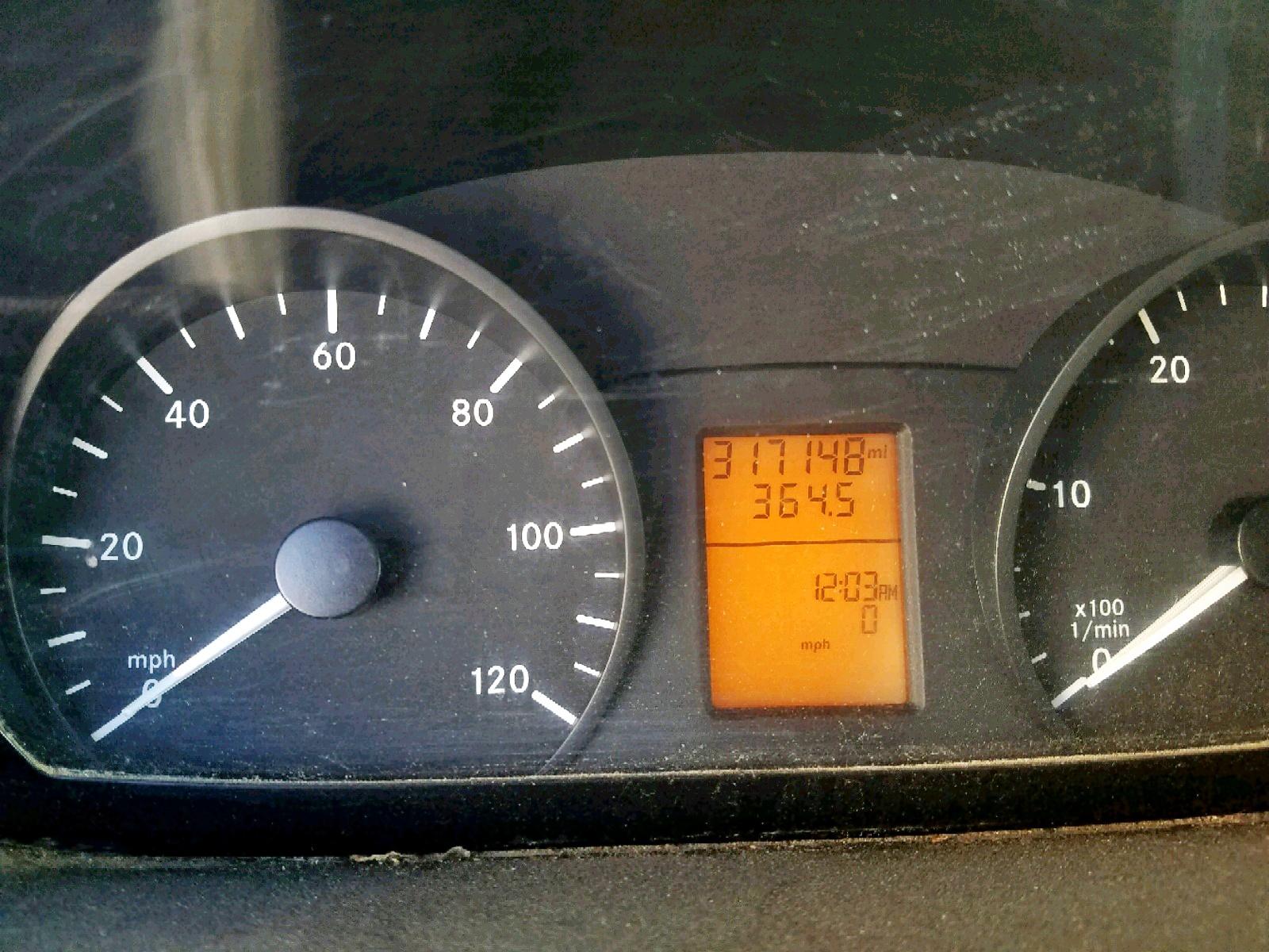 2012 Mercedes-Benz Sprinter 2 3.0L front view