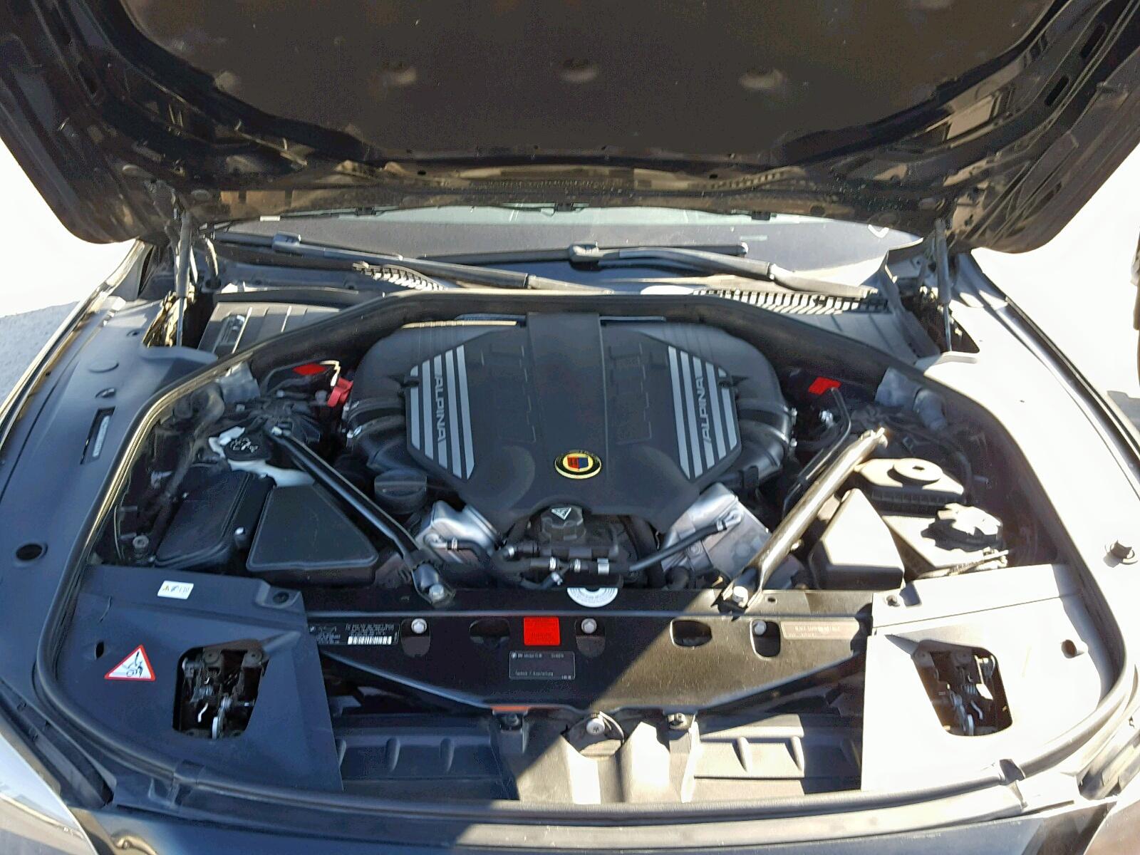 2011 Bmw Alpina B7 4.4L inside view
