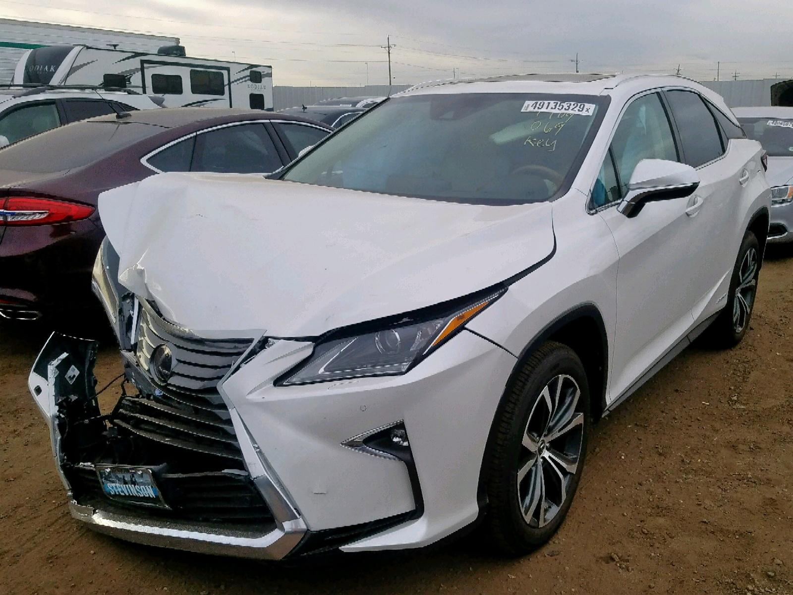 2019 Lexus Rx 450H Ba 3.5L 6 in CO - Denver ...