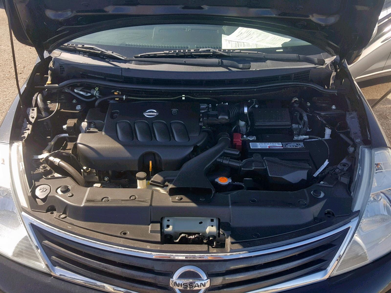 3N1BC1CP5BL493407 - 2011 Nissan Versa S 1.8L inside view