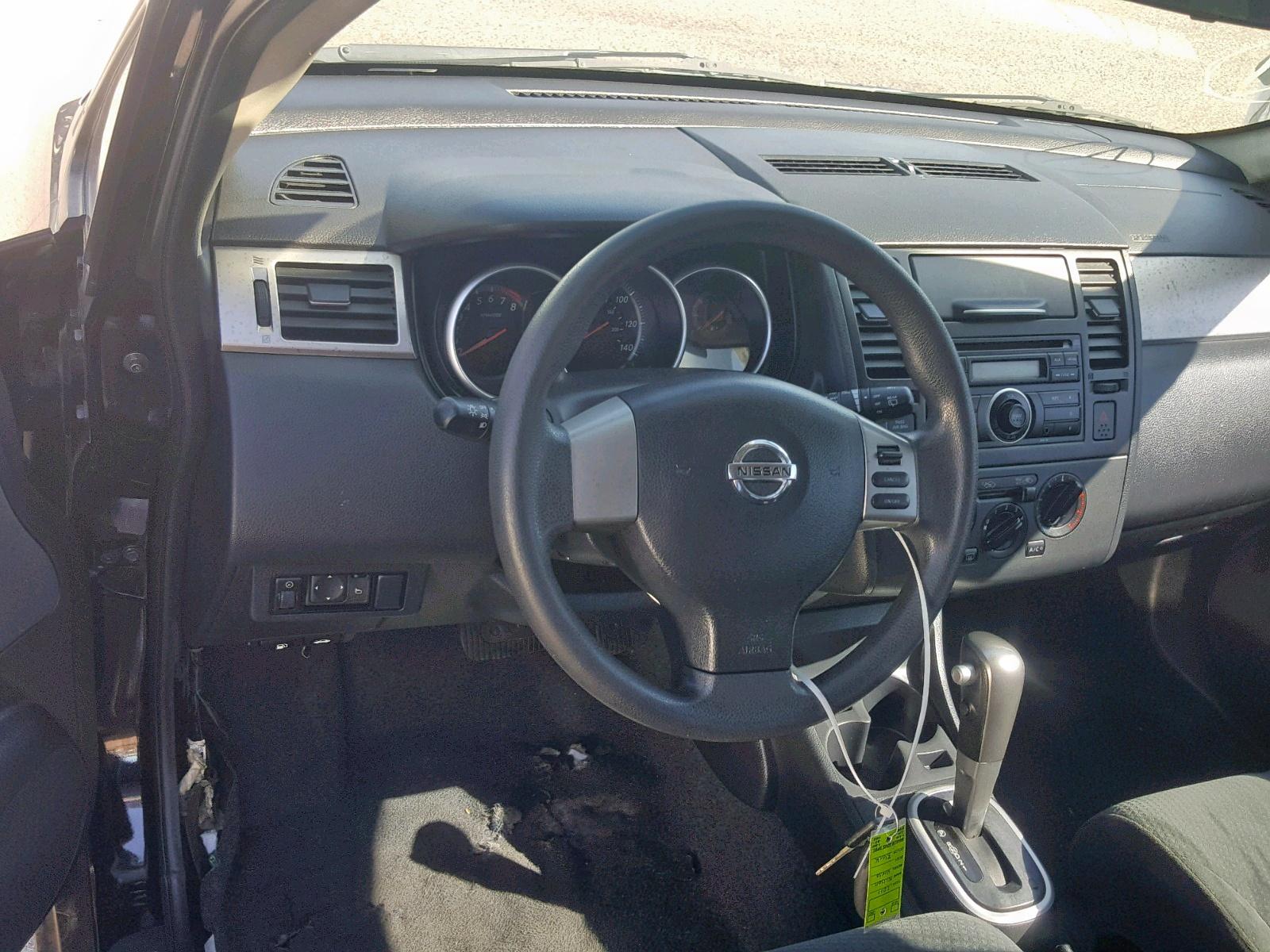 3N1BC1CP5BL493407 - 2011 Nissan Versa S 1.8L engine view
