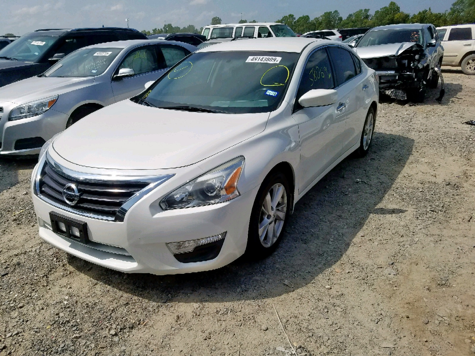 1N4AL3AP2EC284882 - 2014 Nissan Altima 2.5 2.5L Right View