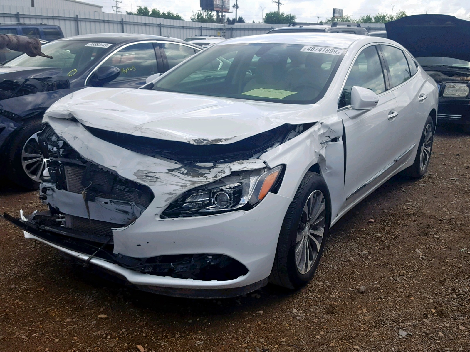 1G4ZN5SS6HU153924 - 2017 Buick Lacrosse P 3.6L Right View