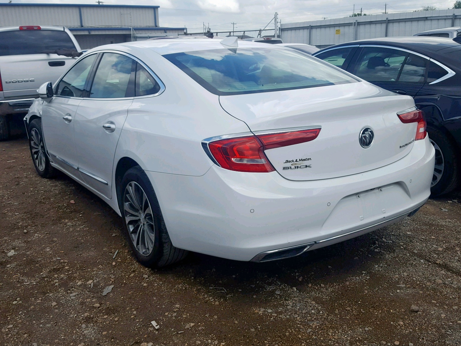 1G4ZN5SS6HU153924 - 2017 Buick Lacrosse P 3.6L [Angle] View