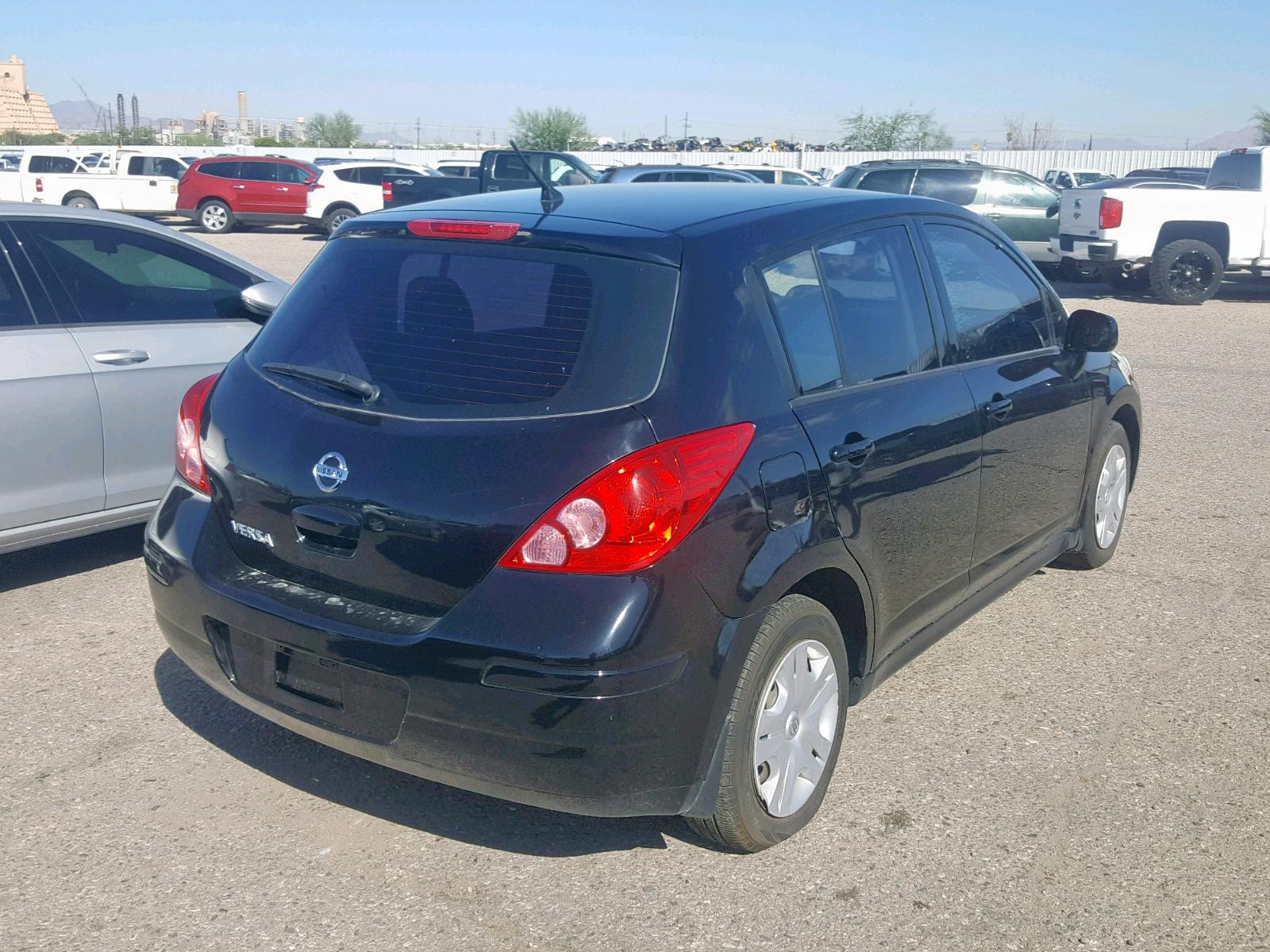 3N1BC1CP5BL493407 - 2011 Nissan Versa S 1.8L rear view