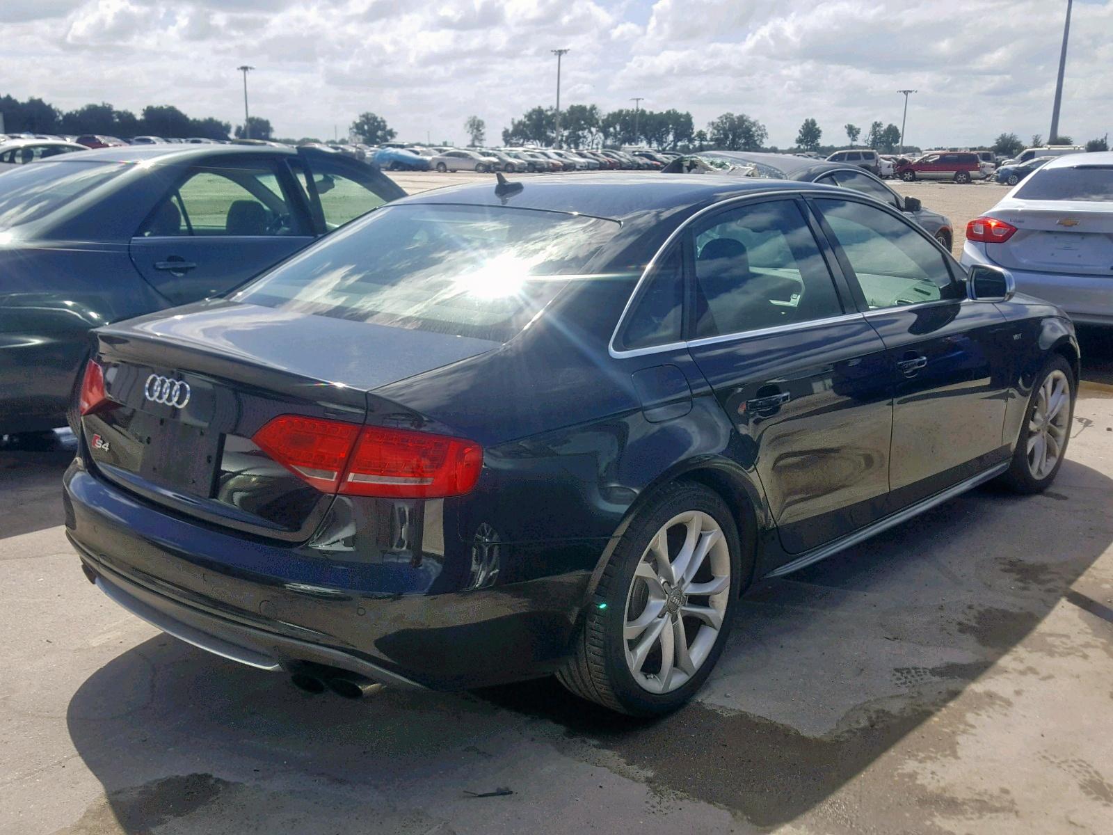 WAUBGAFL2BA031403 - 2011 Audi S4 Premium 3.0L rear view