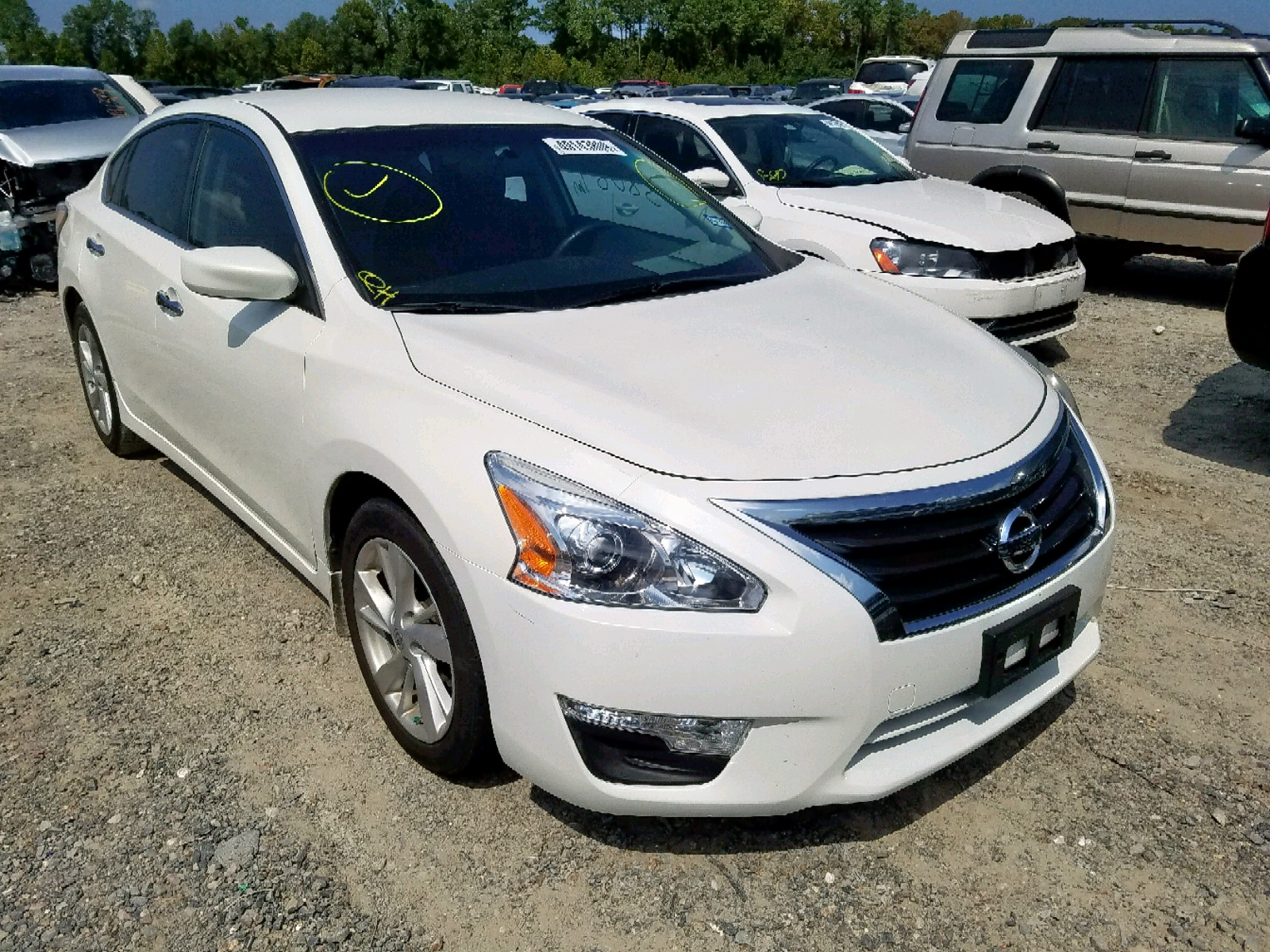1N4AL3AP2EC284882 - 2014 Nissan Altima 2.5 2.5L Left View
