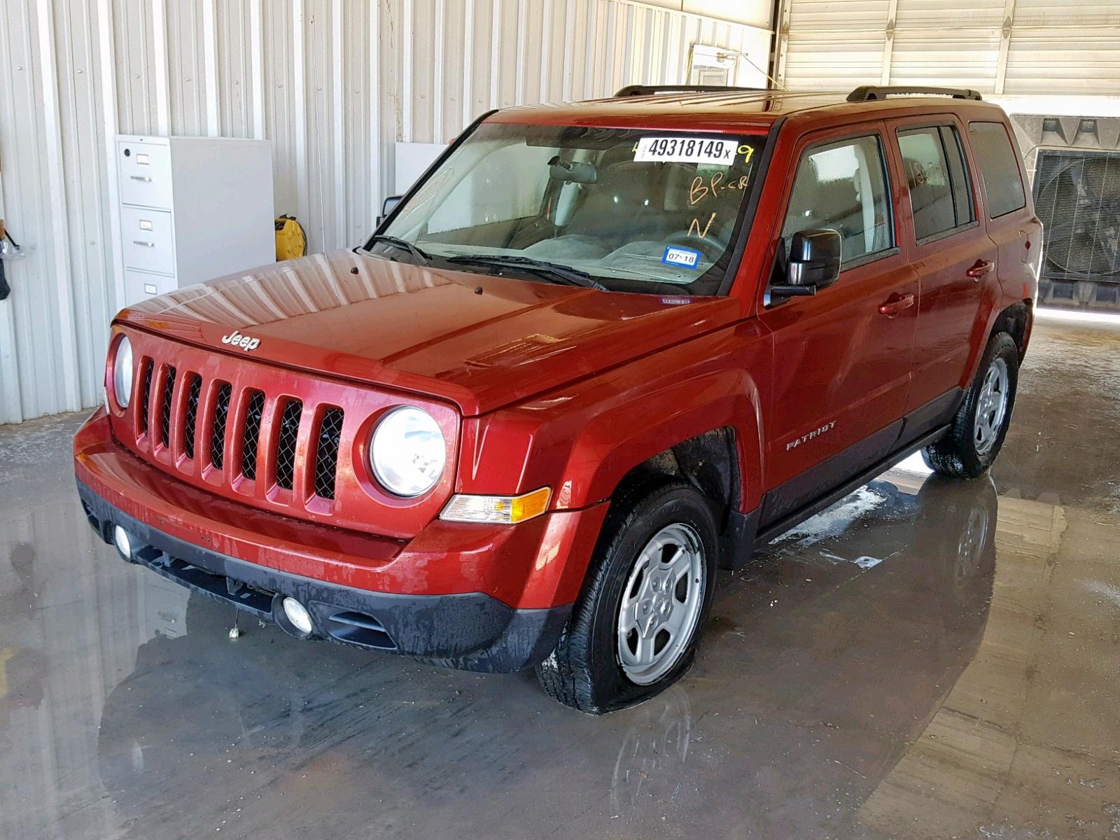 1C4NJPBA8DD272697 - 2013 Jeep Patriot Sp 2.0L Right View
