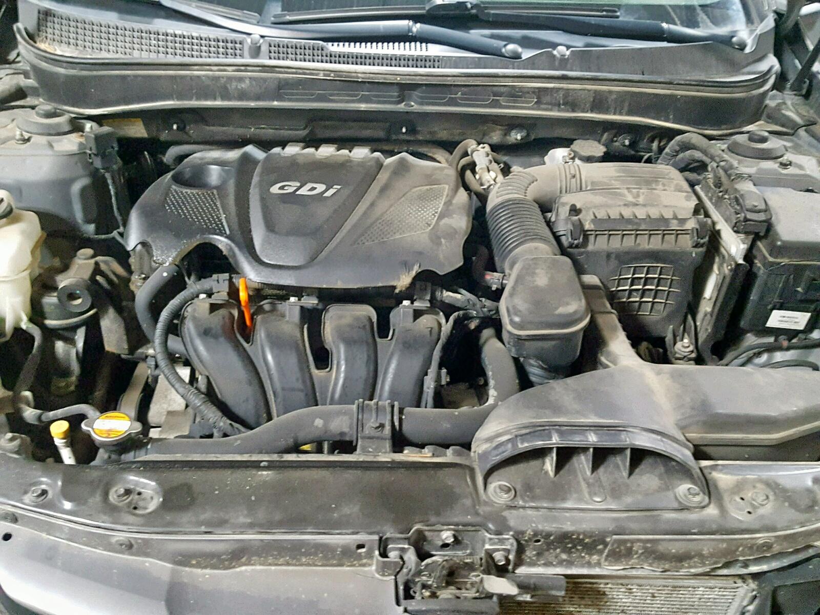 2013 Hyundai Sonata Gls 2.4L inside view